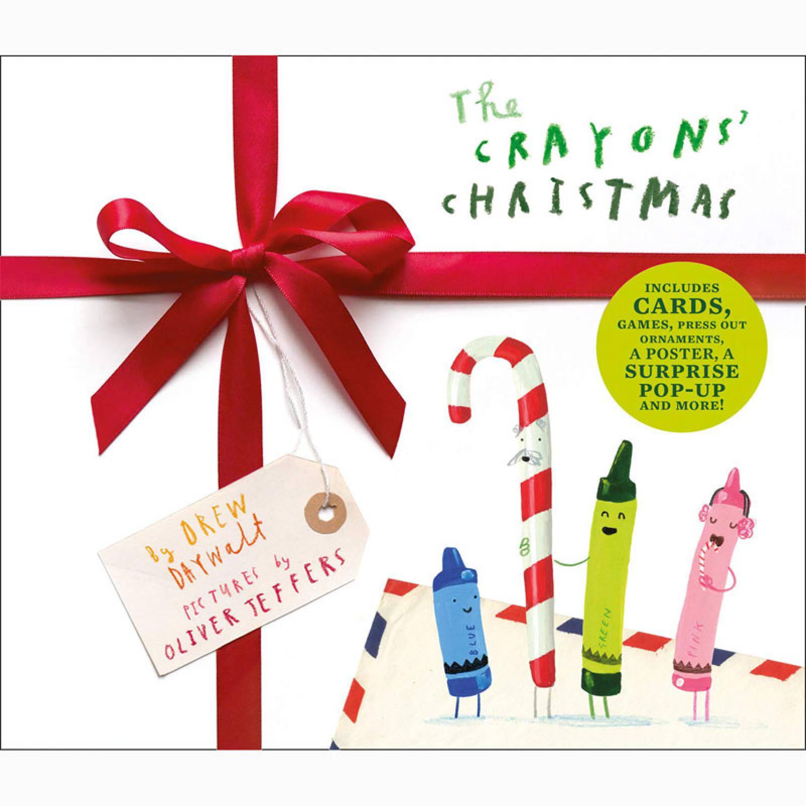 The Crayons' Christmas - Hardback Book
