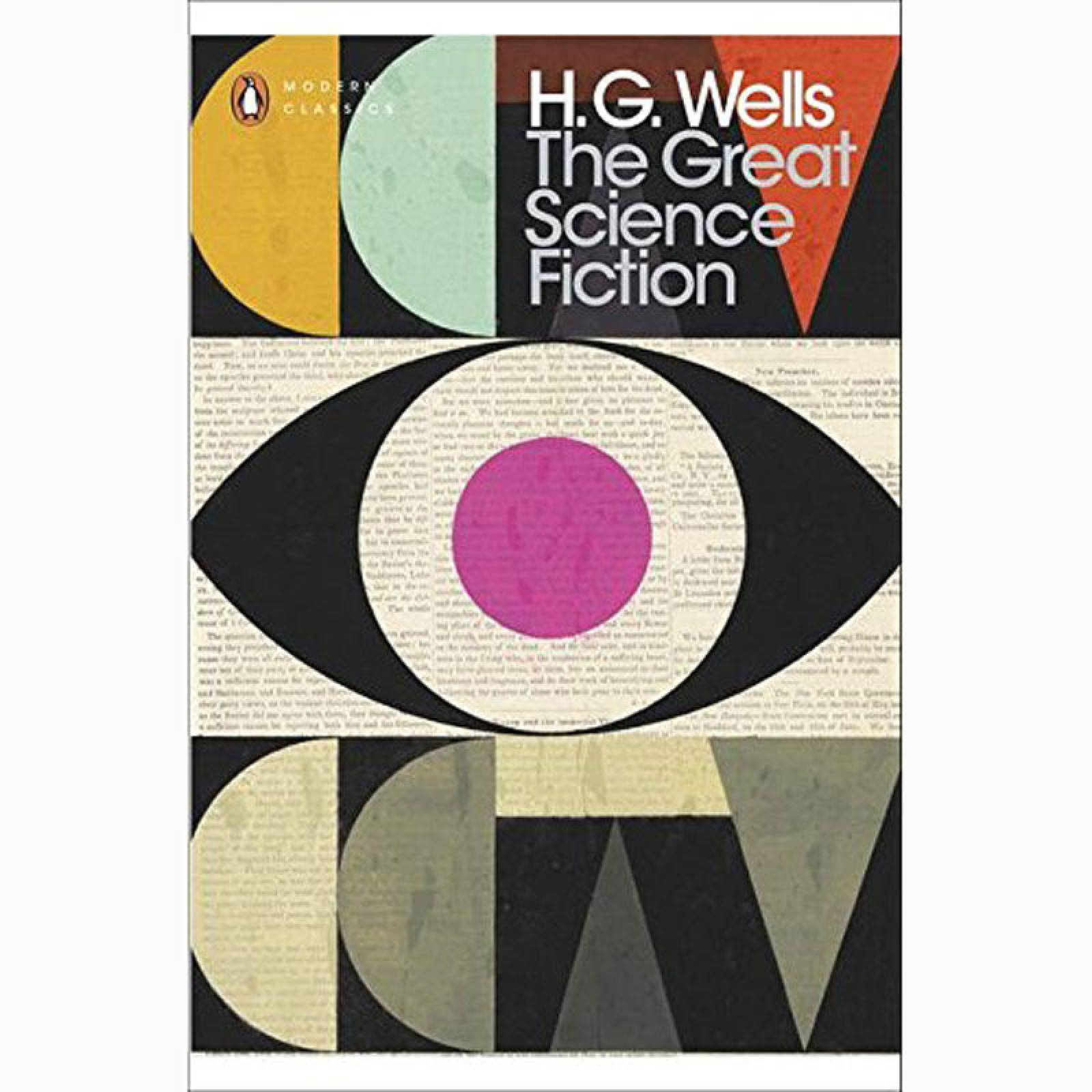 The Great Science Fiction By H.G. Wells - Paperback Book