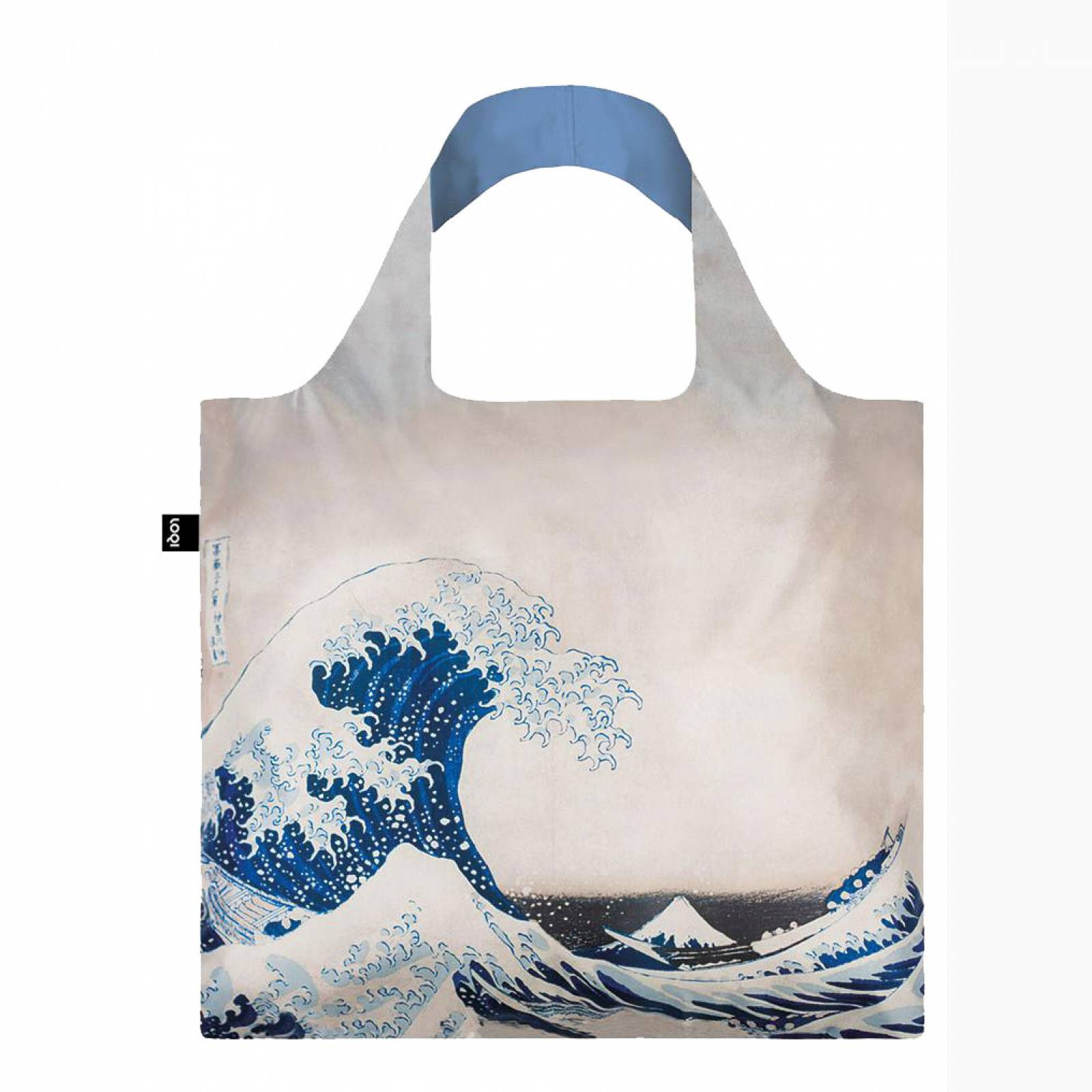 The Great Wave - Reusable Tote Bag With Pouch