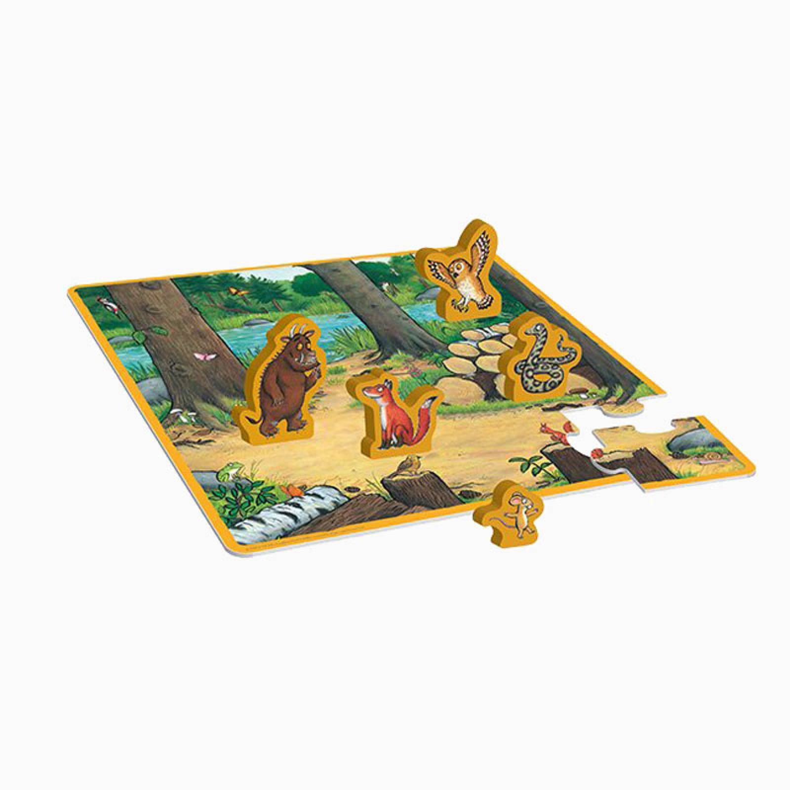 The Gruffalo Puzzle Play Set 2+
