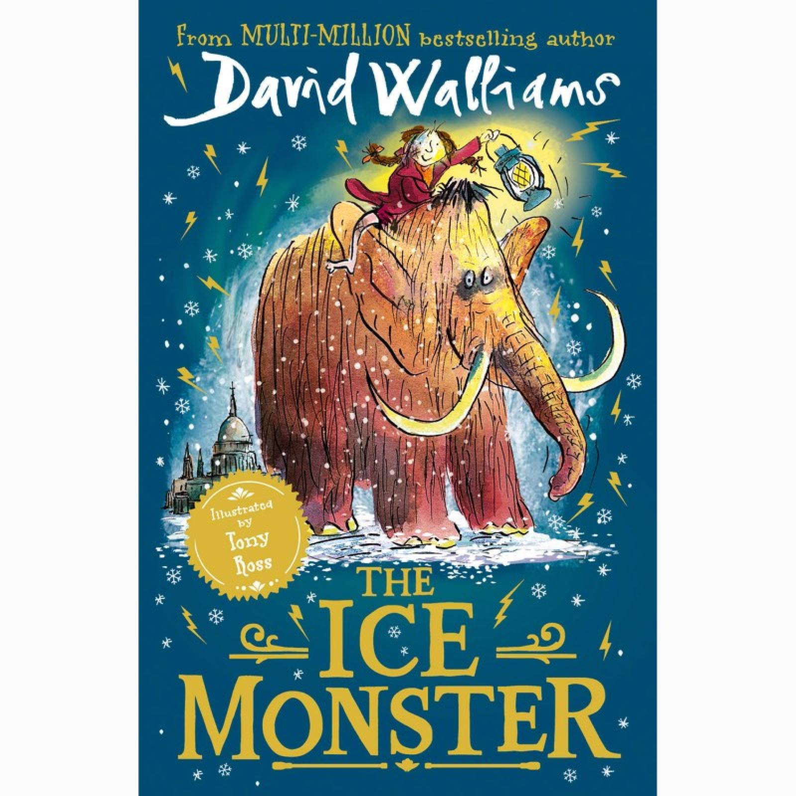The Ice Monster By David Walliams - Paperback Book