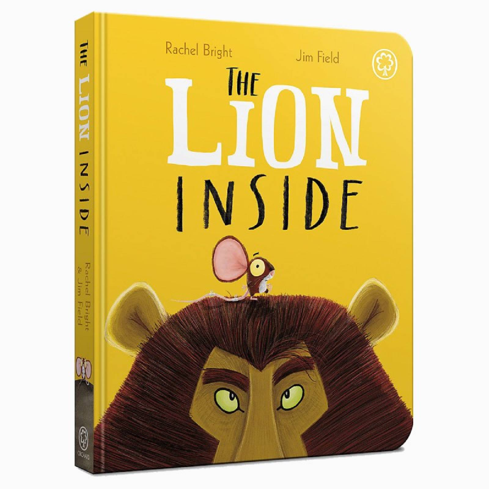The Lion Inside - Board Book
