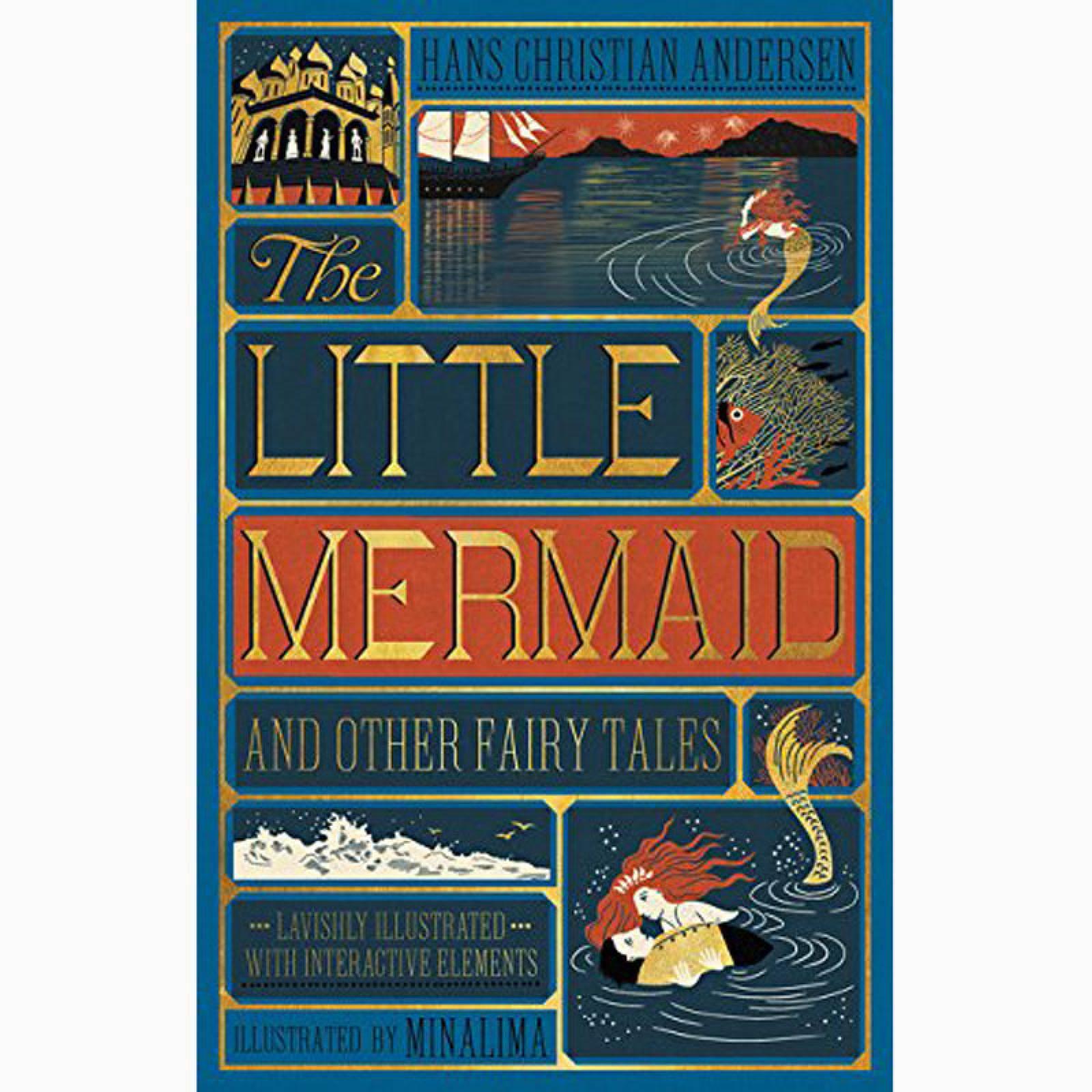The Little Mermaid - Minalima Illustrations Hardback Book