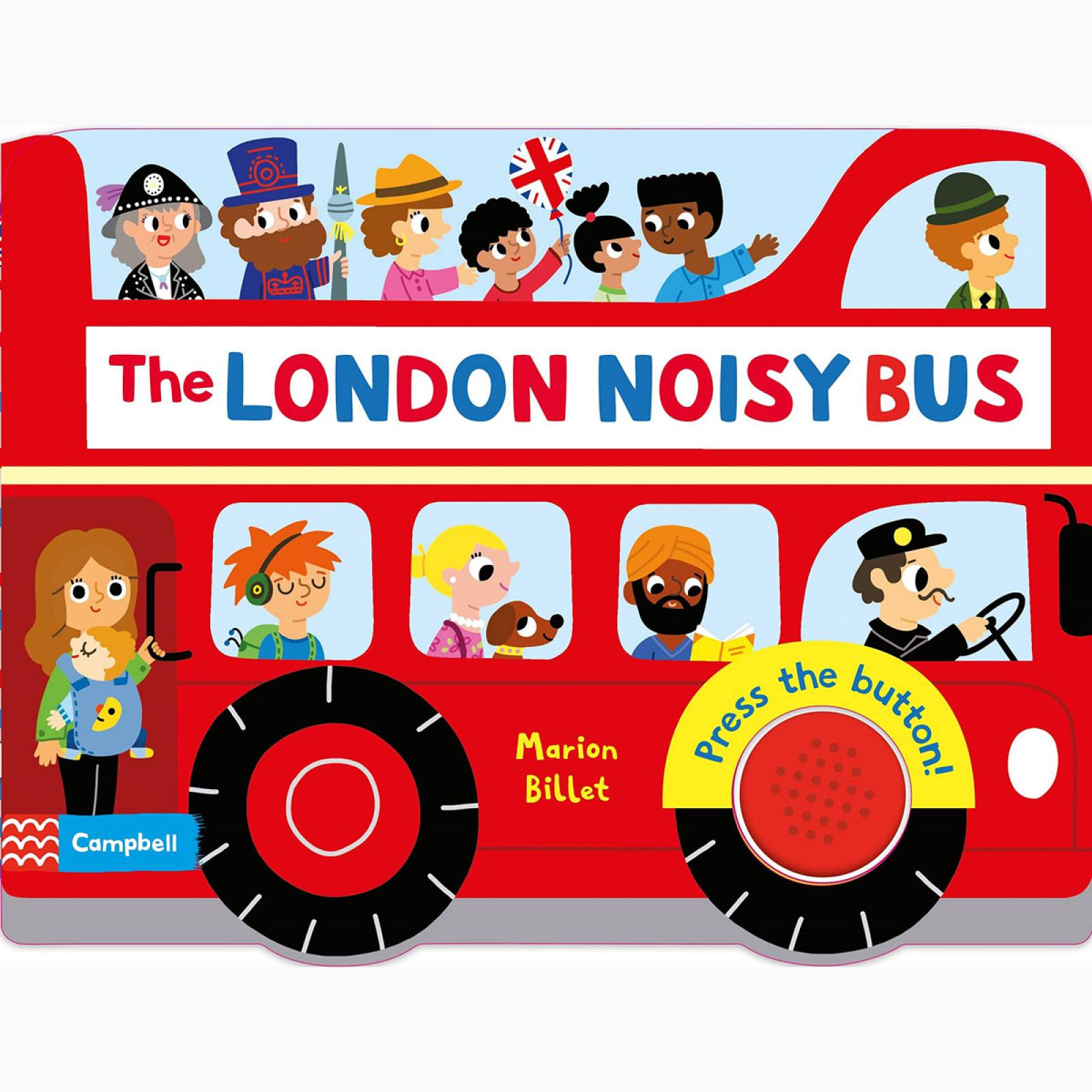 The London Noisy Bus - Board Book thumbnails