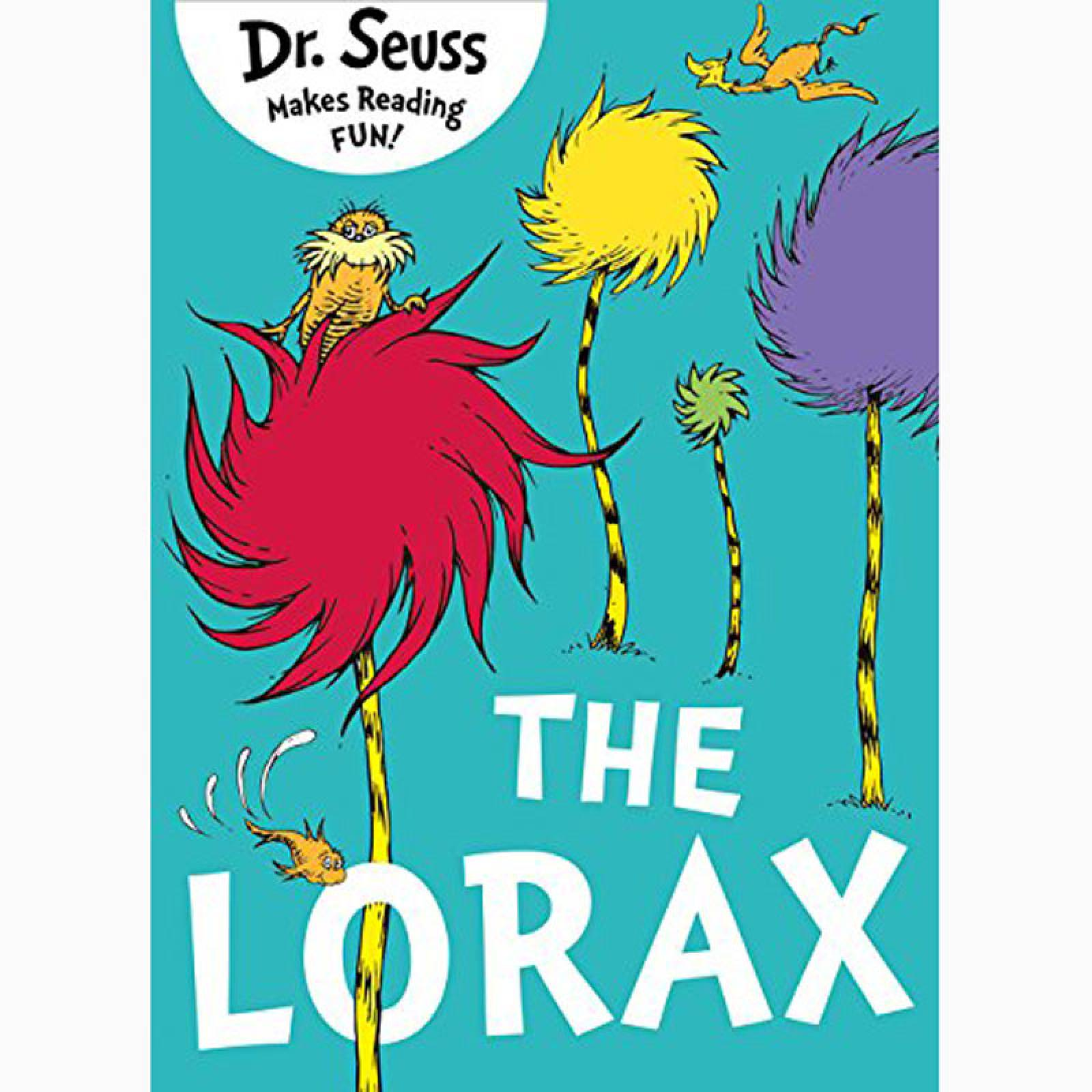 The Lorax By Dr. Seuss - Paperback Book