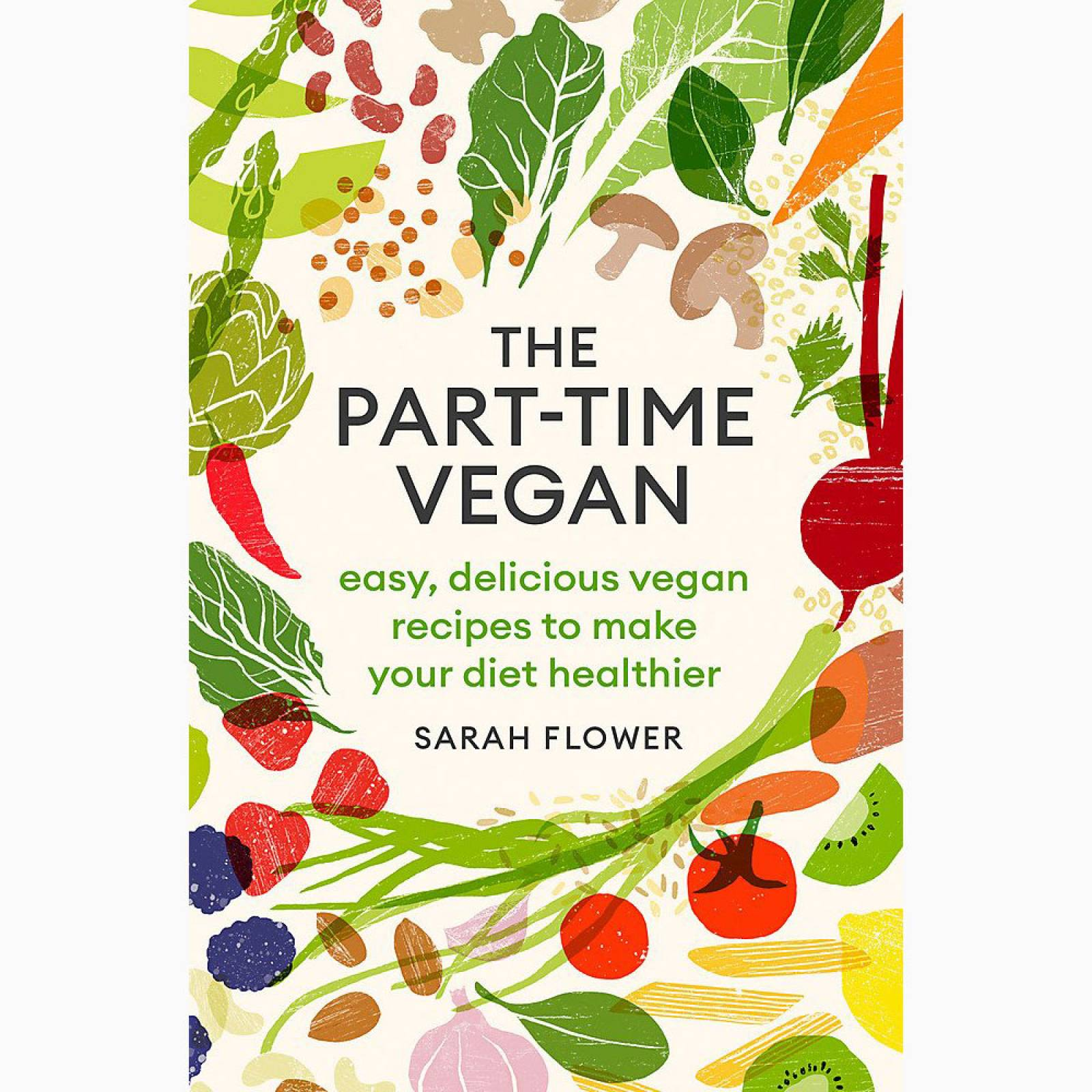 The Part Time Vegan - Paperback Book