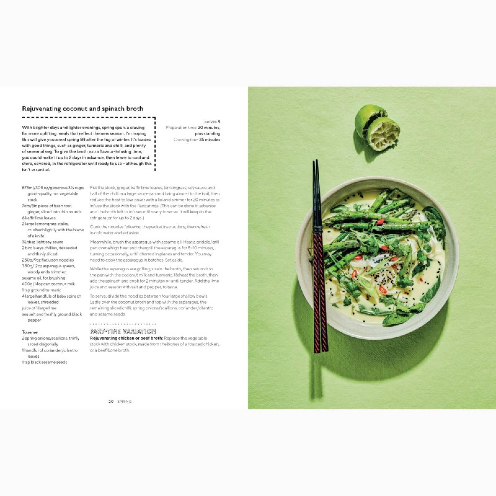 The Part-Time Vegetarian's Year - Hardback Book thumbnails