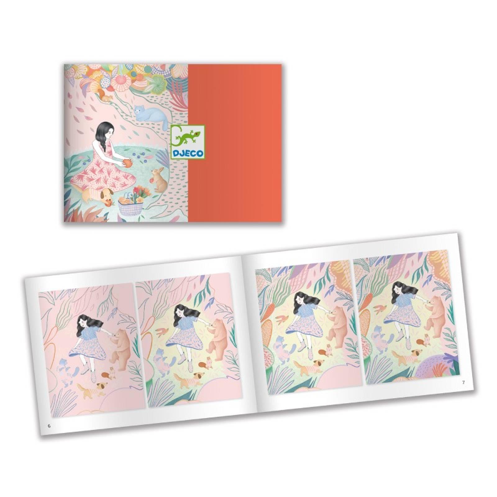 The Picnic - Scratch Art Cards 7+ thumbnails