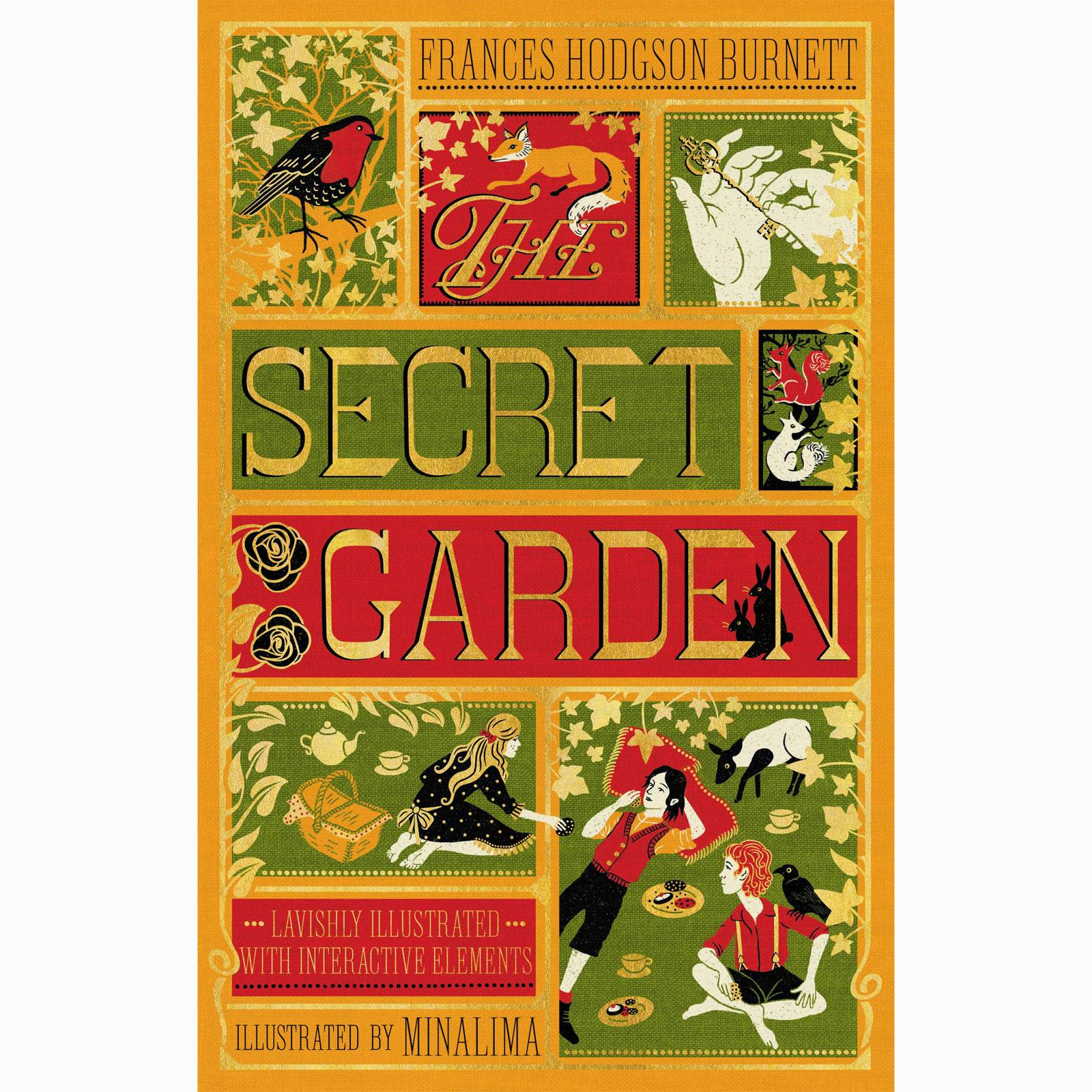 The Secret Garden - Minalima Illustrations Hardback Book