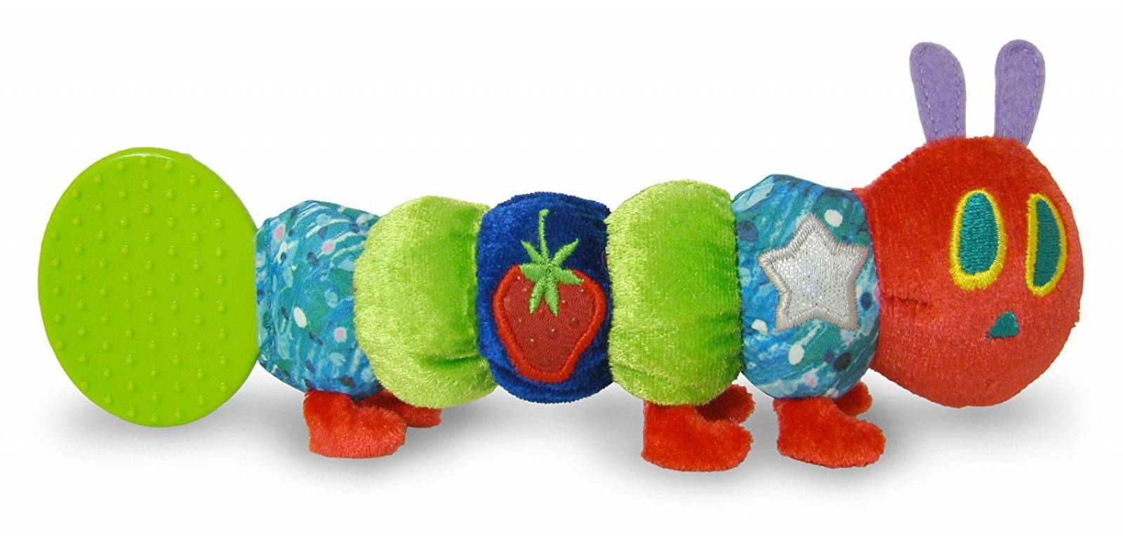 The Very Hungry Caterpillar Teether Rattle 0+