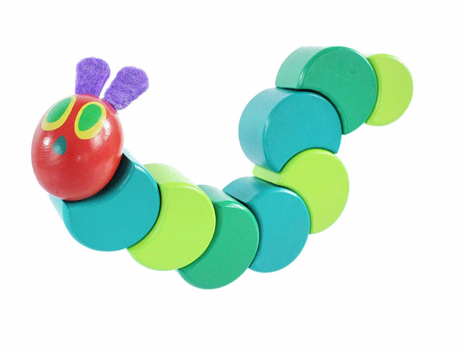 The Very Hungry Caterpillar Wooden Grasp & Twist Toy thumbnails