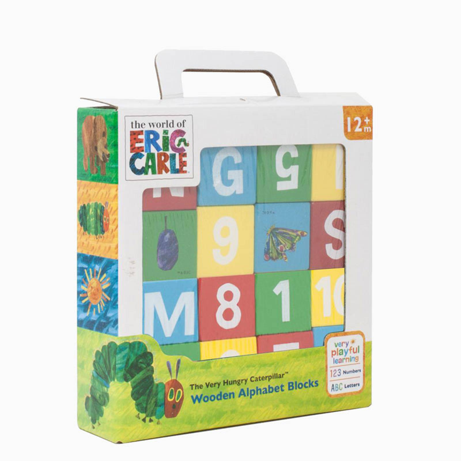 The Very Hungry Caterpillar Wooden Picture Blocks 1+
