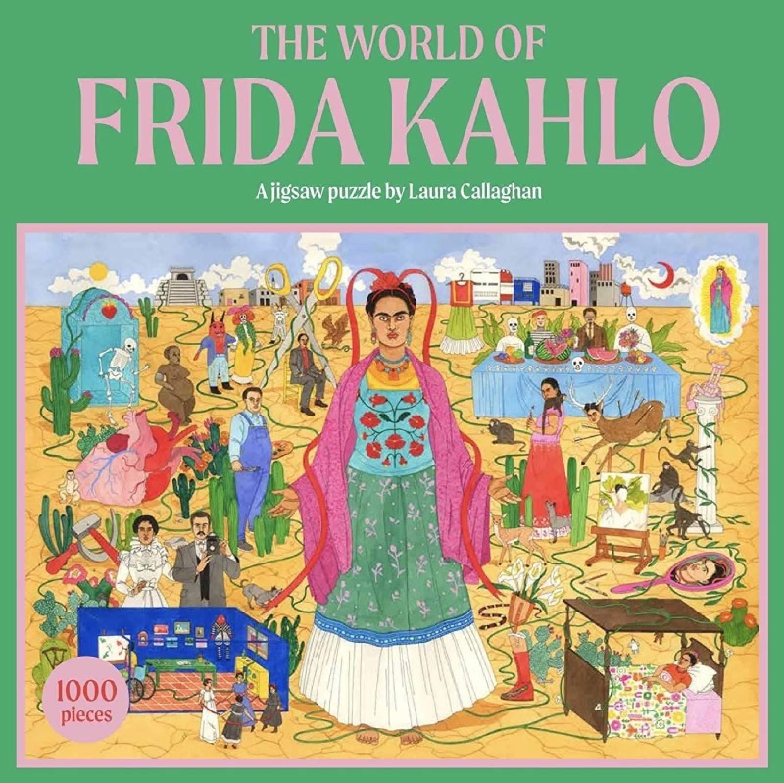 The World Of Frida Kahlo - 1000 Piece Jigsaw Puzzle