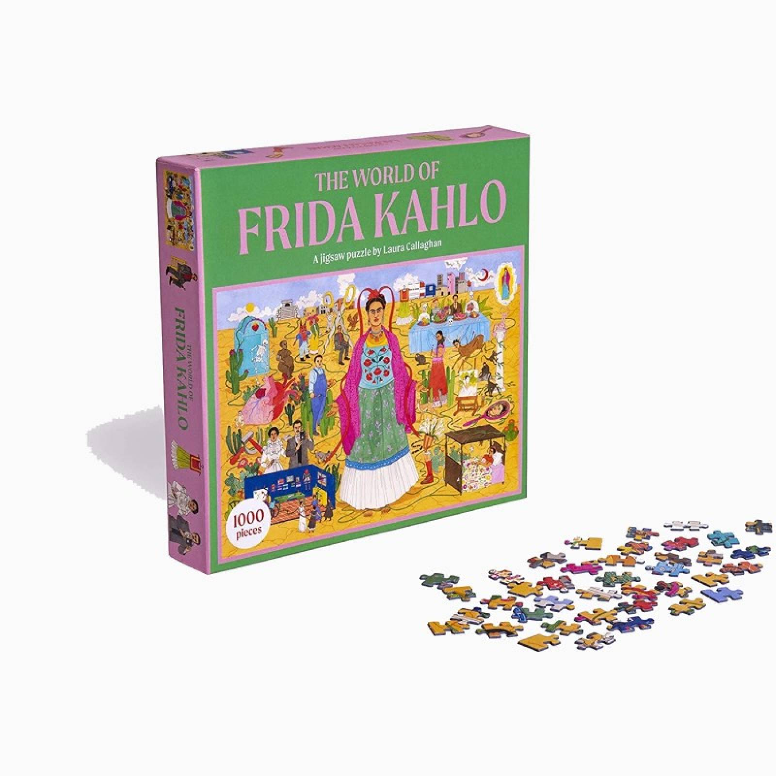 The World Of Frida Kahlo - 1000 Piece Jigsaw Puzzle thumbnails