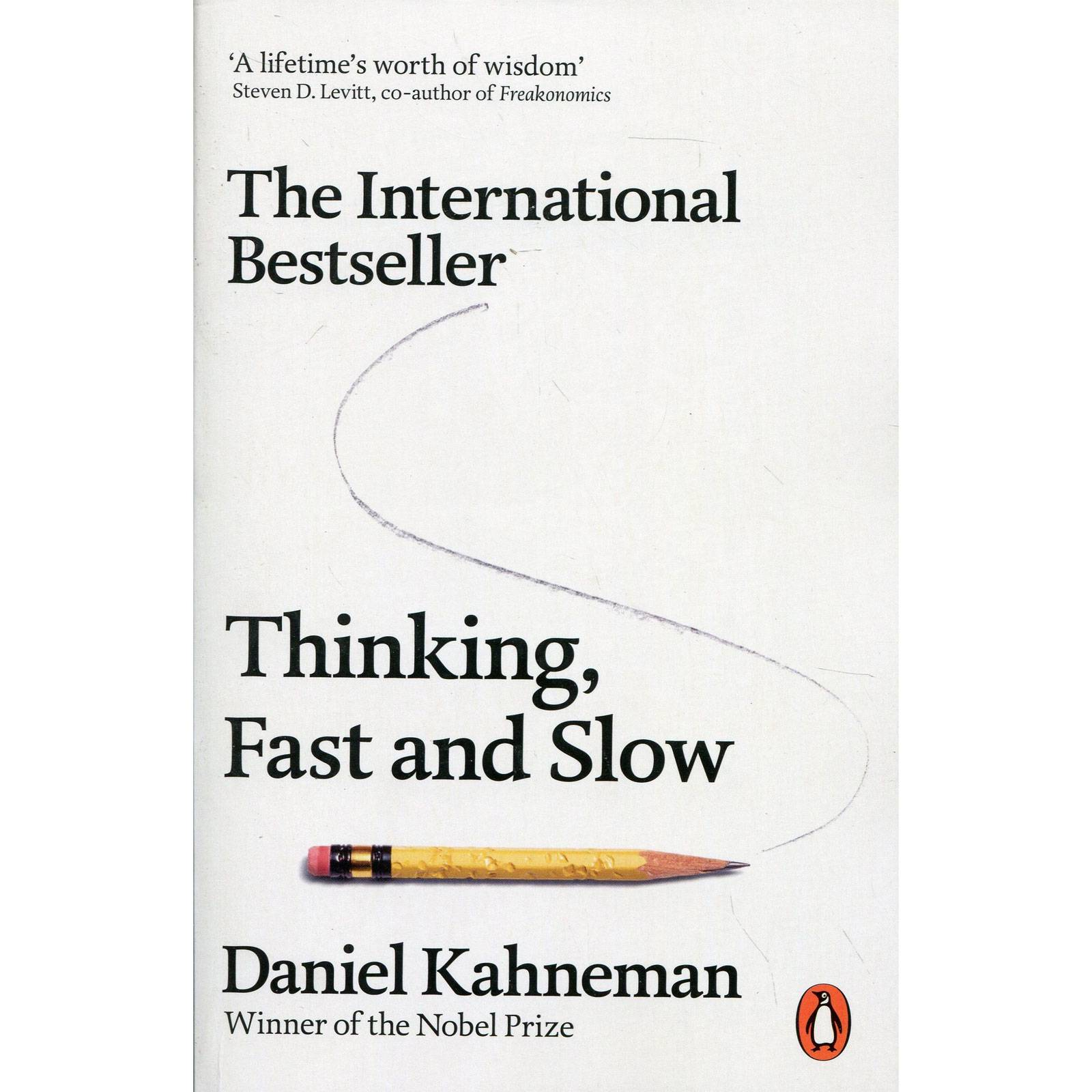 Thinking Fast And Slow - Paperback Book