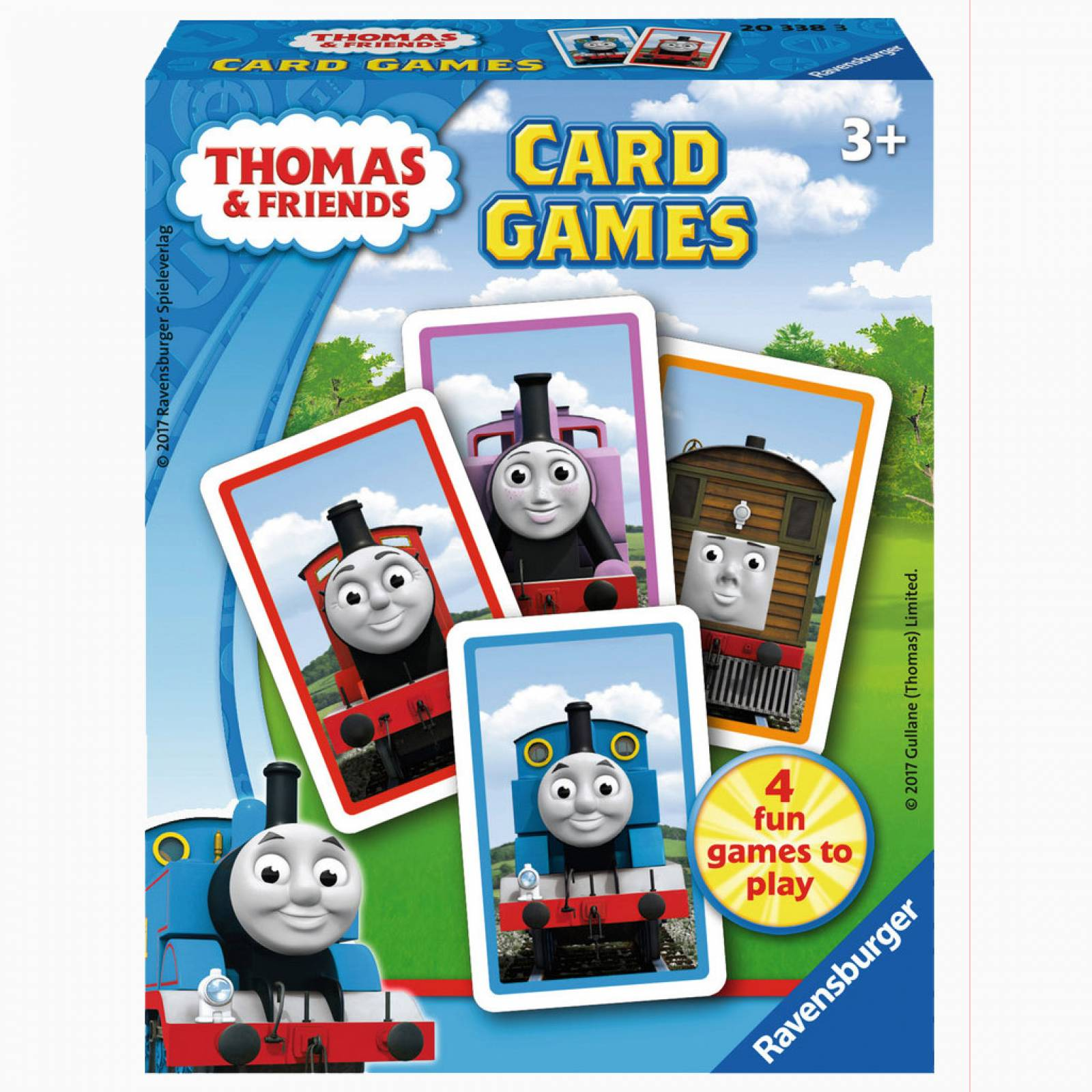 Thomas & Friends Card Games 3+