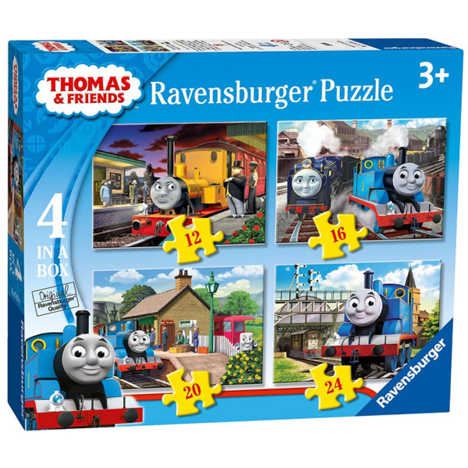 Thomas & Friends 4 in Box Jigsaw Puzzles Ages 3+