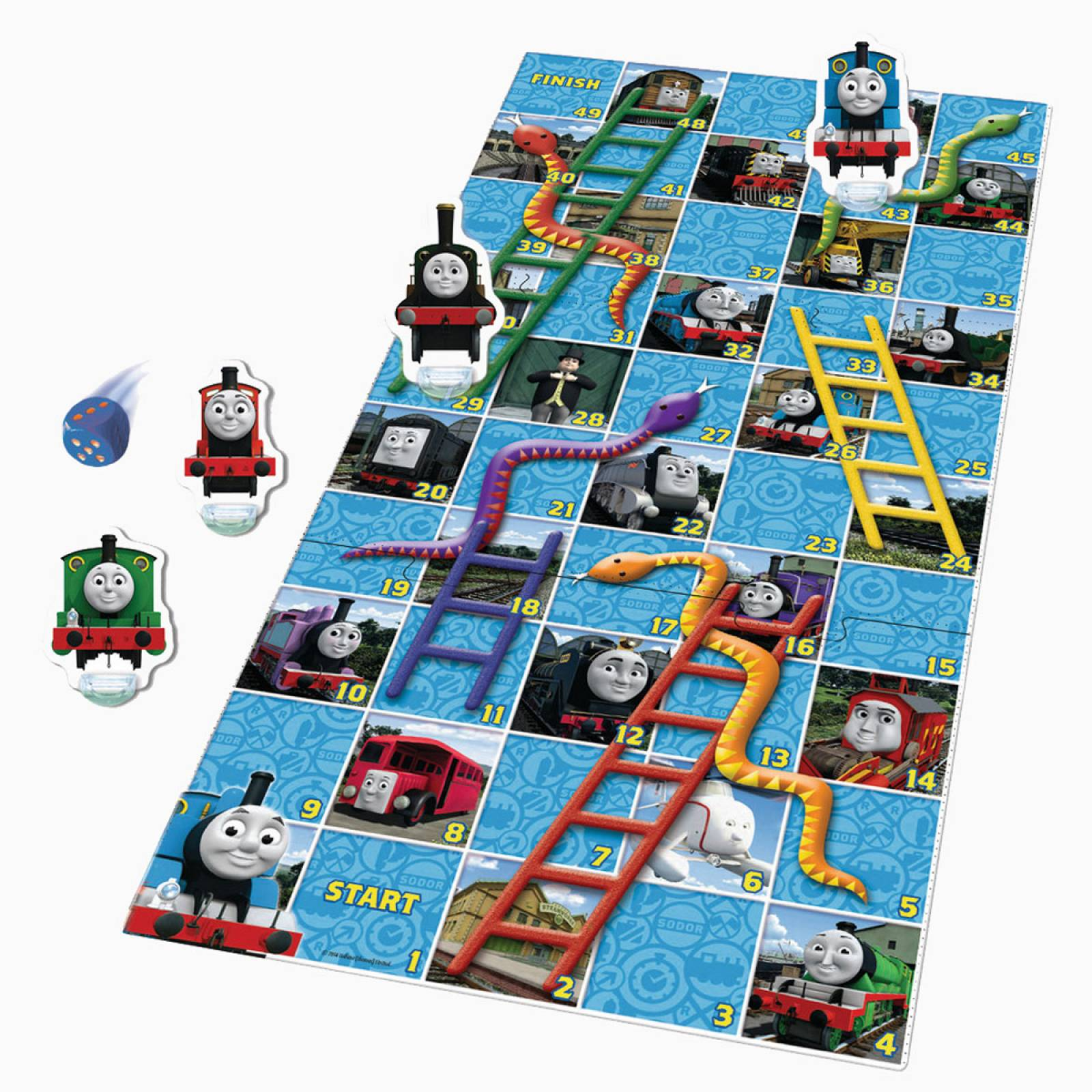 Thomas & Friends Snakes And Ladders Game 3+ thumbnails