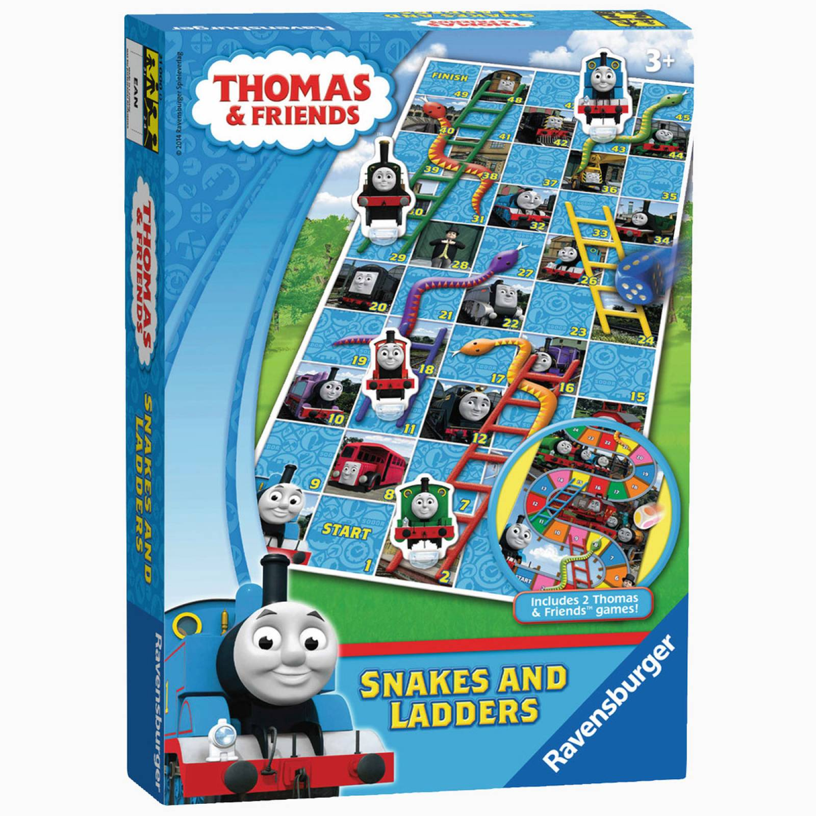 Thomas & Friends Snakes And Ladders Game 3+