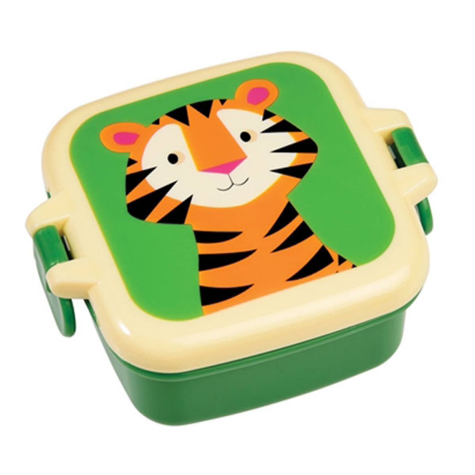 Tiger Melamine Snack Pot