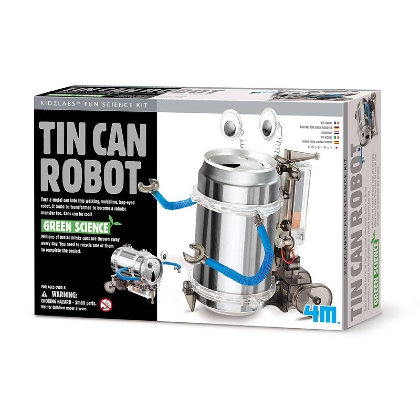 Tin Can Robot - Kidz Robotix 8+
