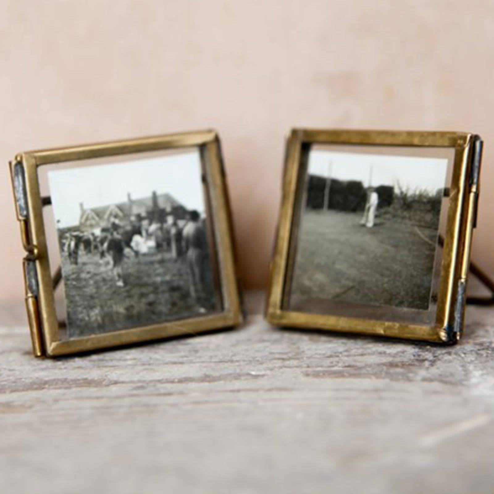 Tiny Danta Frame In Antique Brass thumbnails