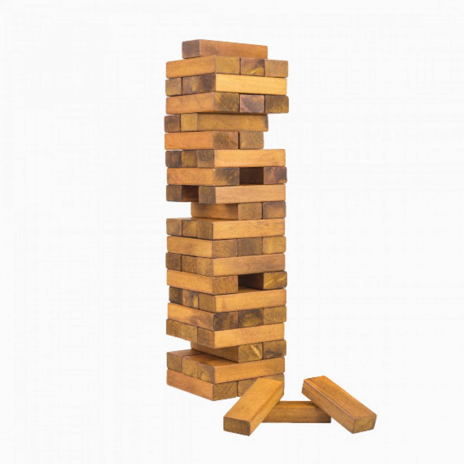 Toppling Tower - Handcrafted Wooden Game Set thumbnails