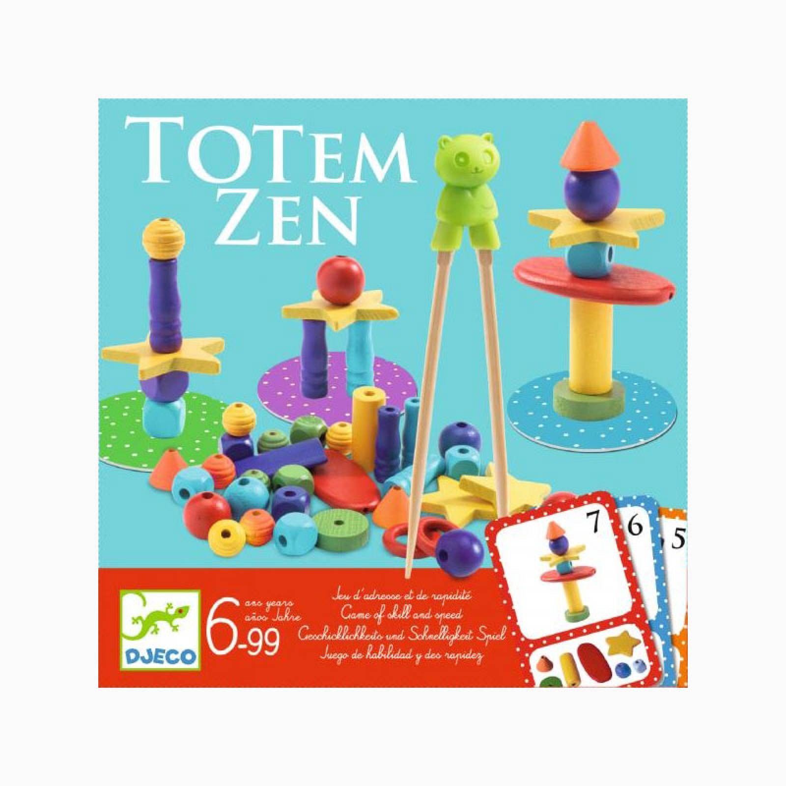 Totem Zen Game By Djeco 6+