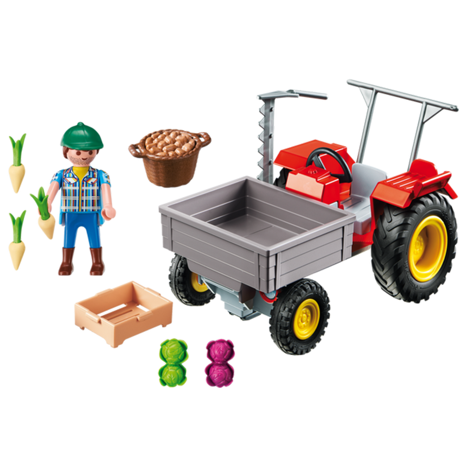Harvesting Tractor Country Playmobil 6131 Age 4+ thumbnails