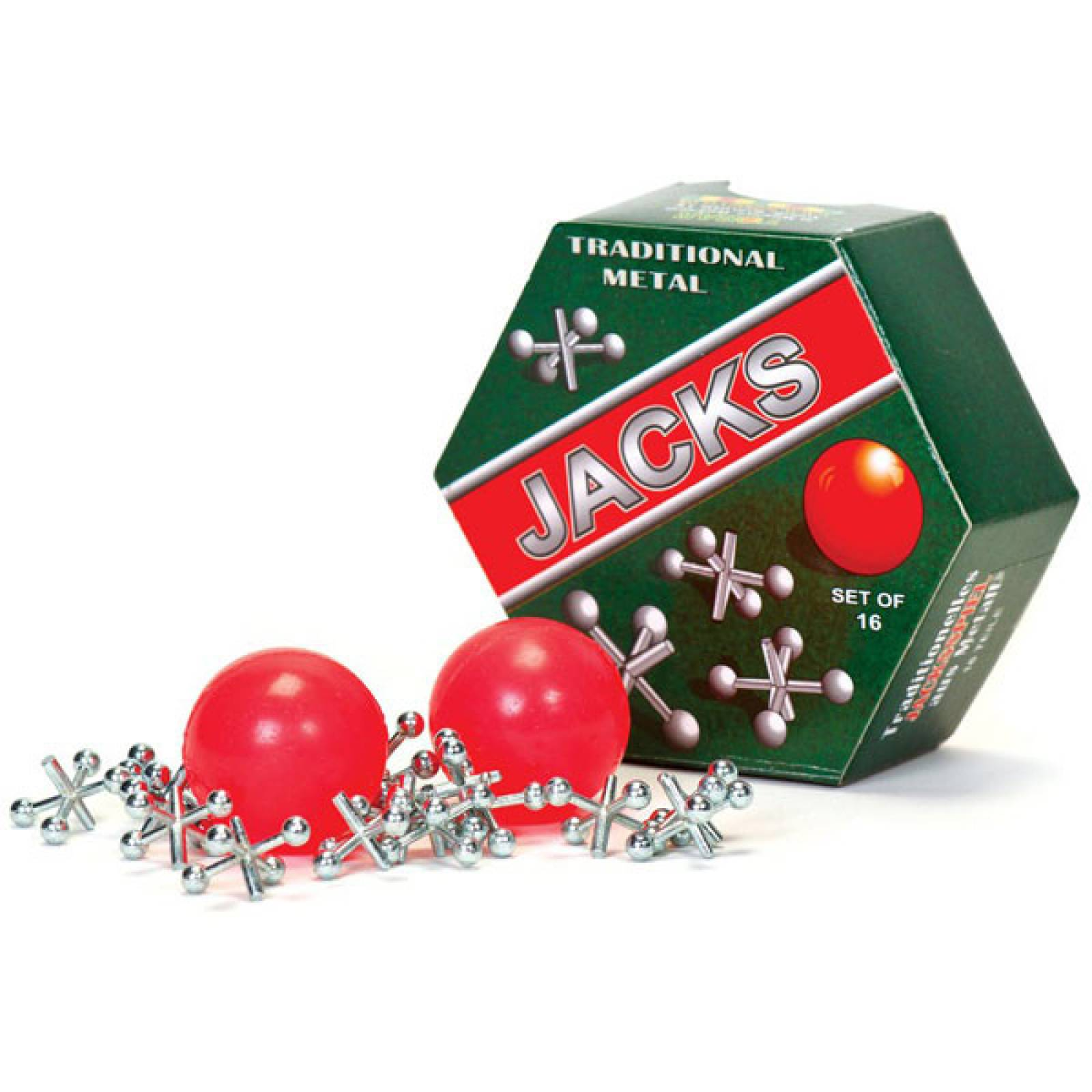 Boxed Set Of Traditional Jacks