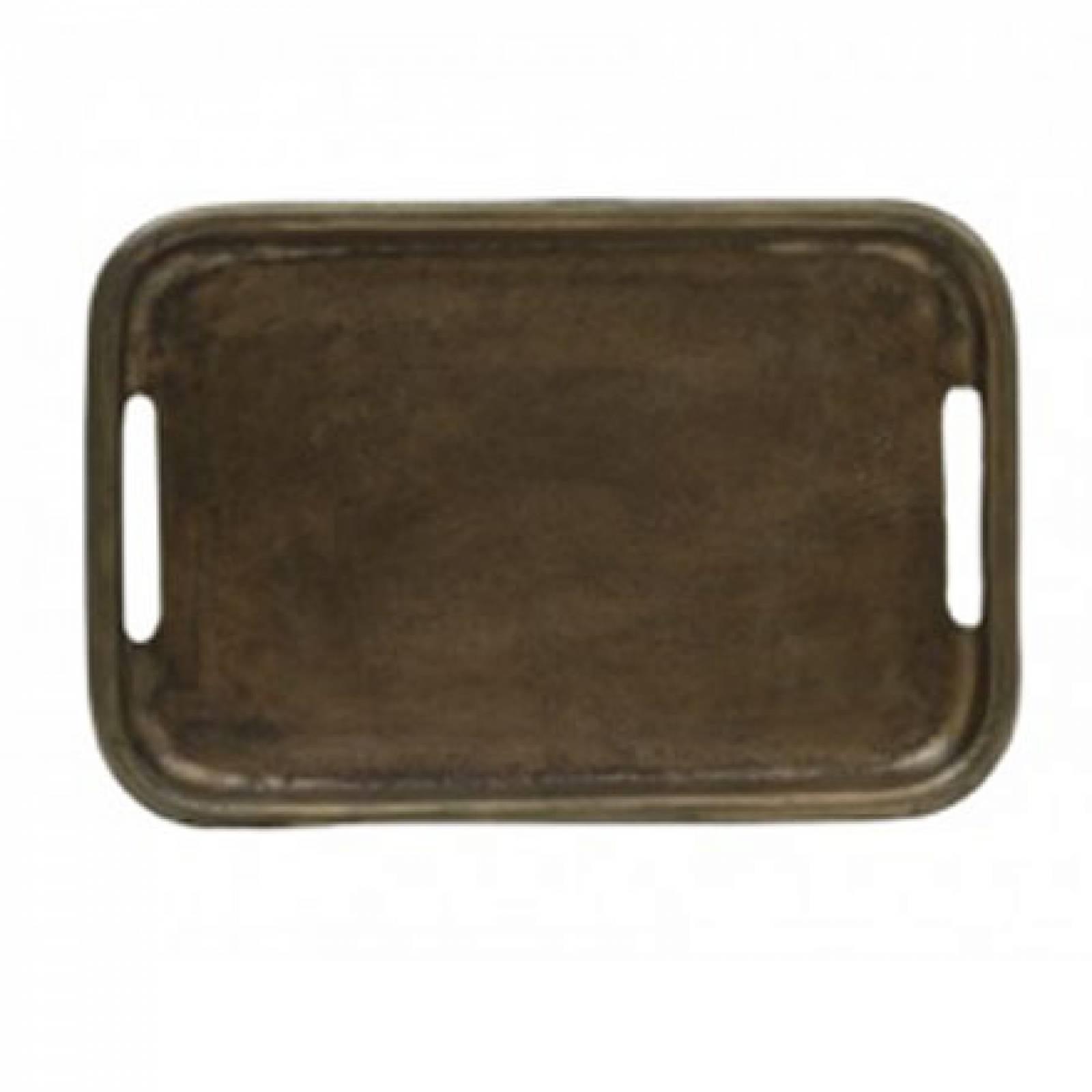 Antiqued Bronzed Tray 30x20cm thumbnails