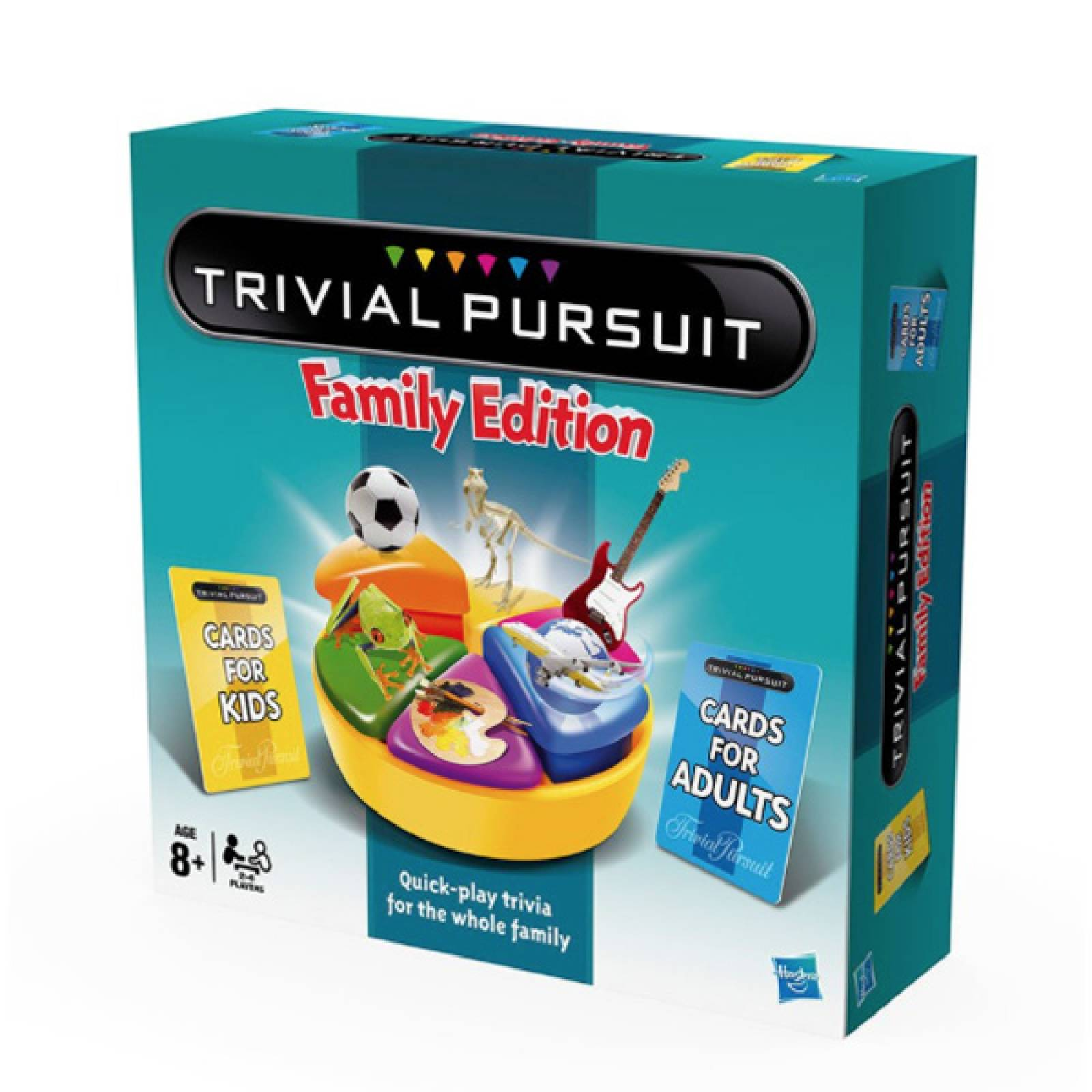 Trivial Pursuit Family Edition Classic Game 8+