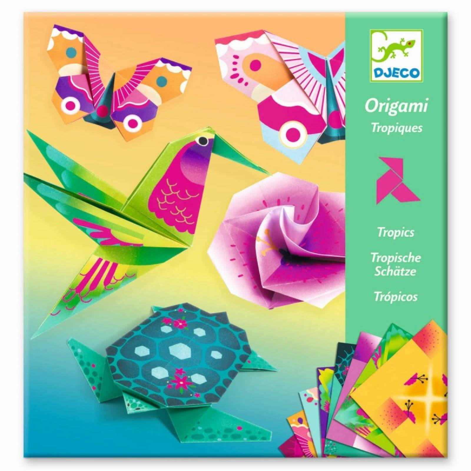 Tropics - Origami Craft Kit 7+