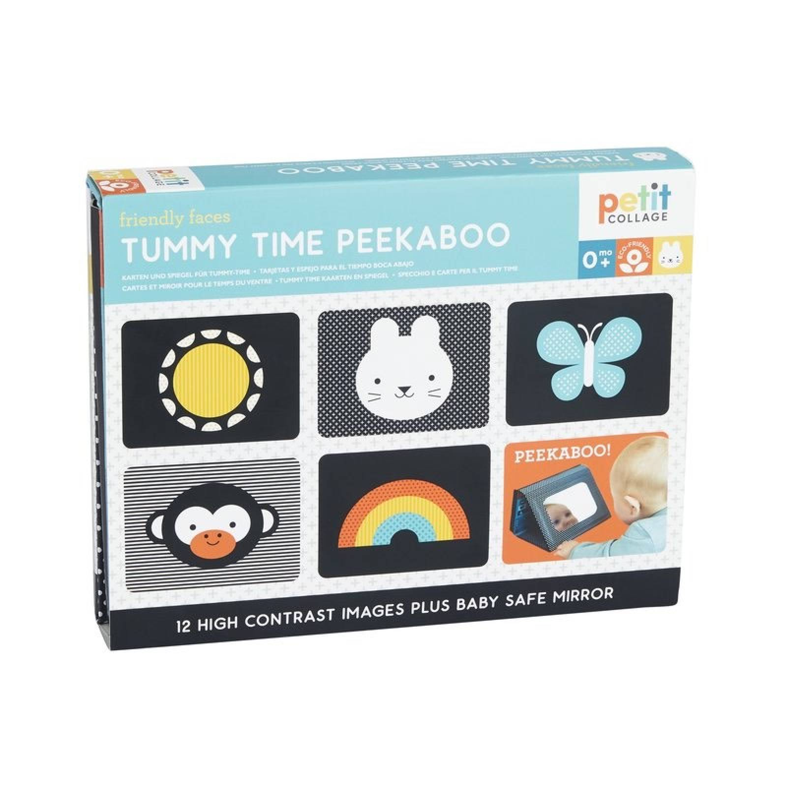 Tummy Time Peekaboo Baby Toy 0+