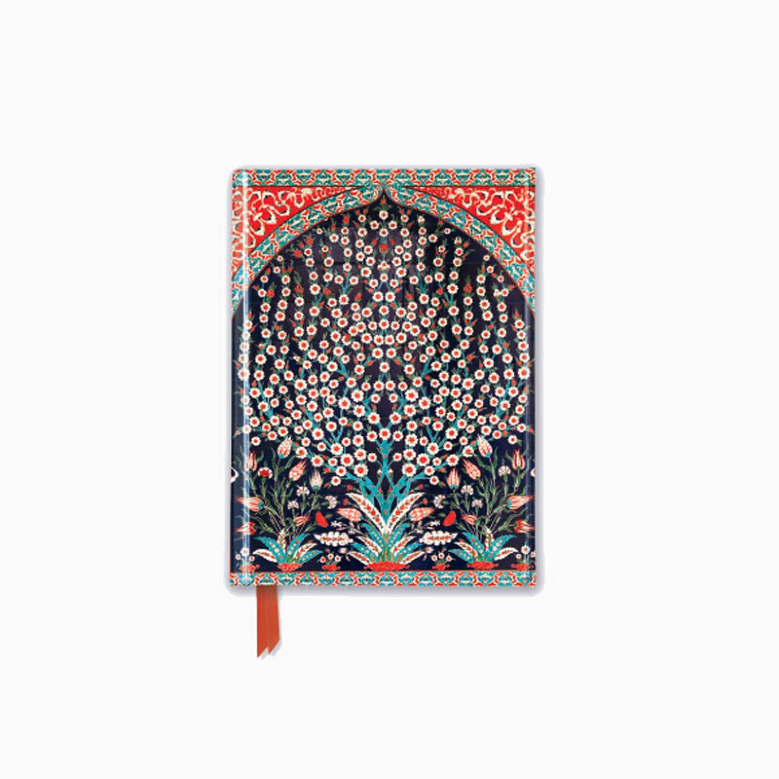 Turkish Wall Tiles - Foiled Pocket Journal