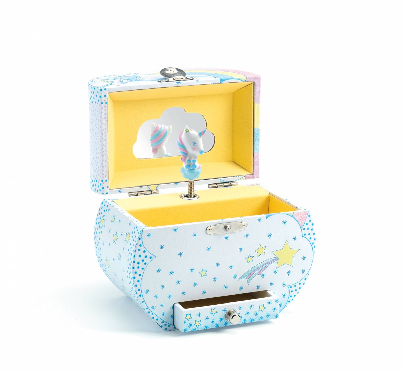 Unicorn's Dream Music Box By Djeco