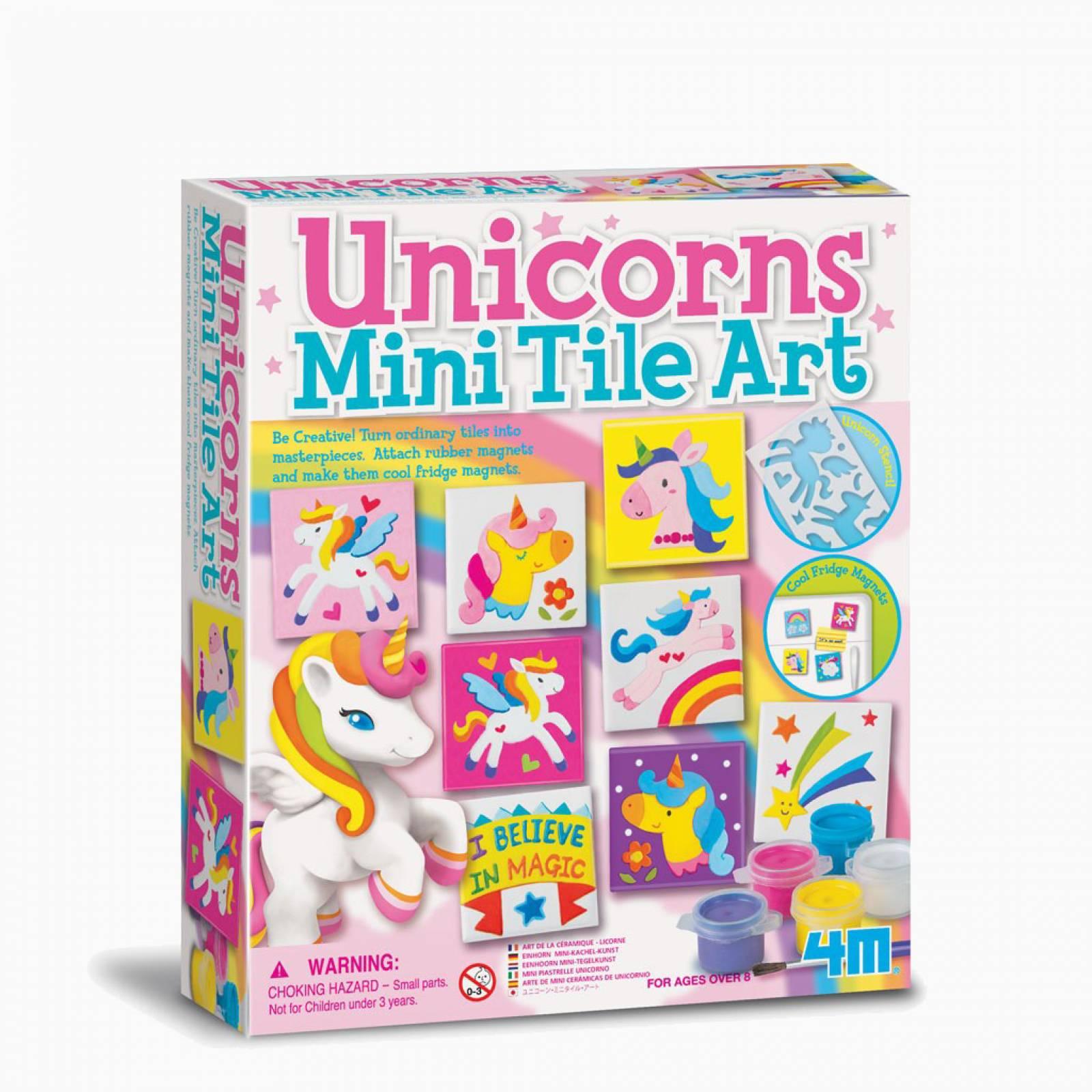 Unicorns - Mini Tile Art Kit 8+