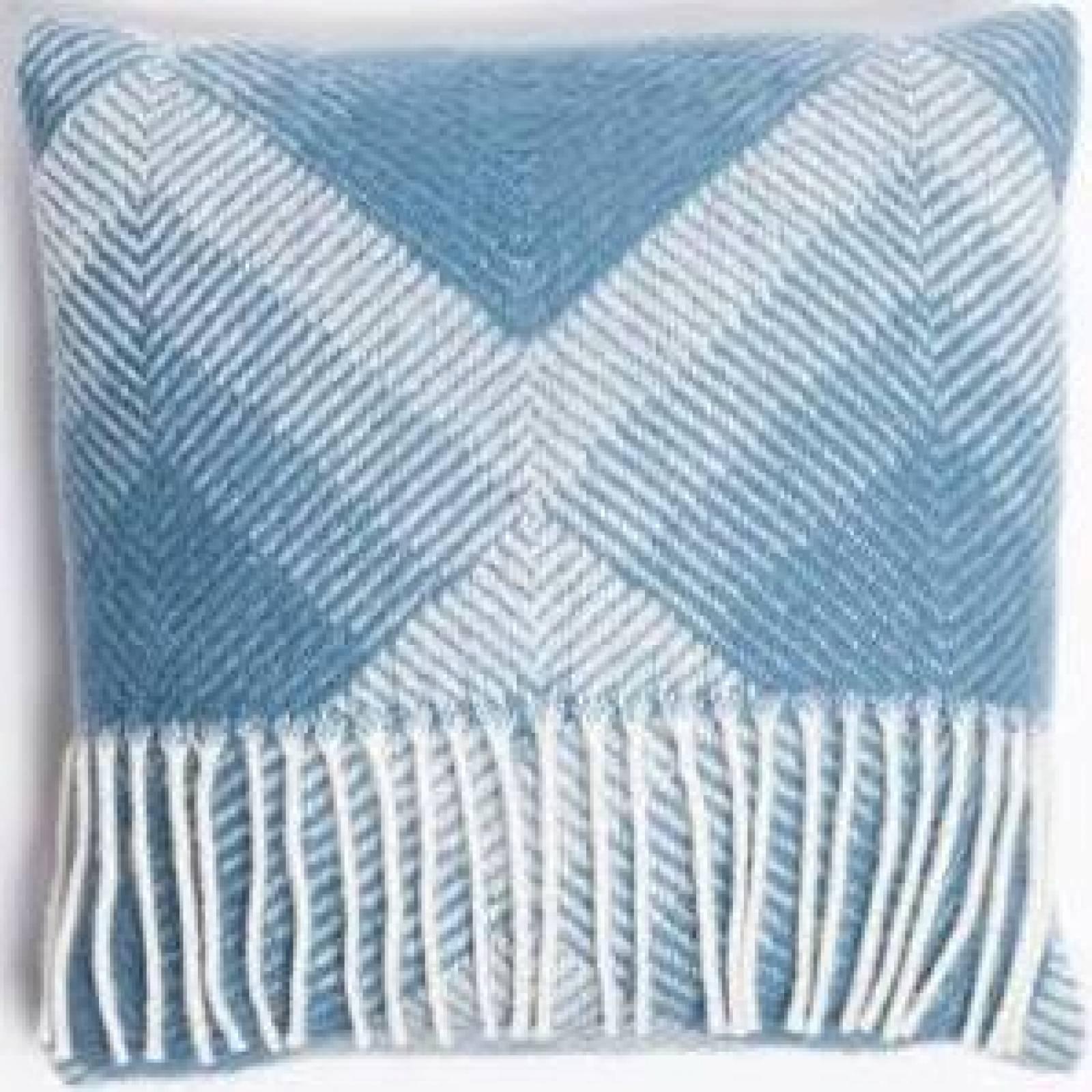 Prism Wool Knee Blanket Petrol 70x183cm