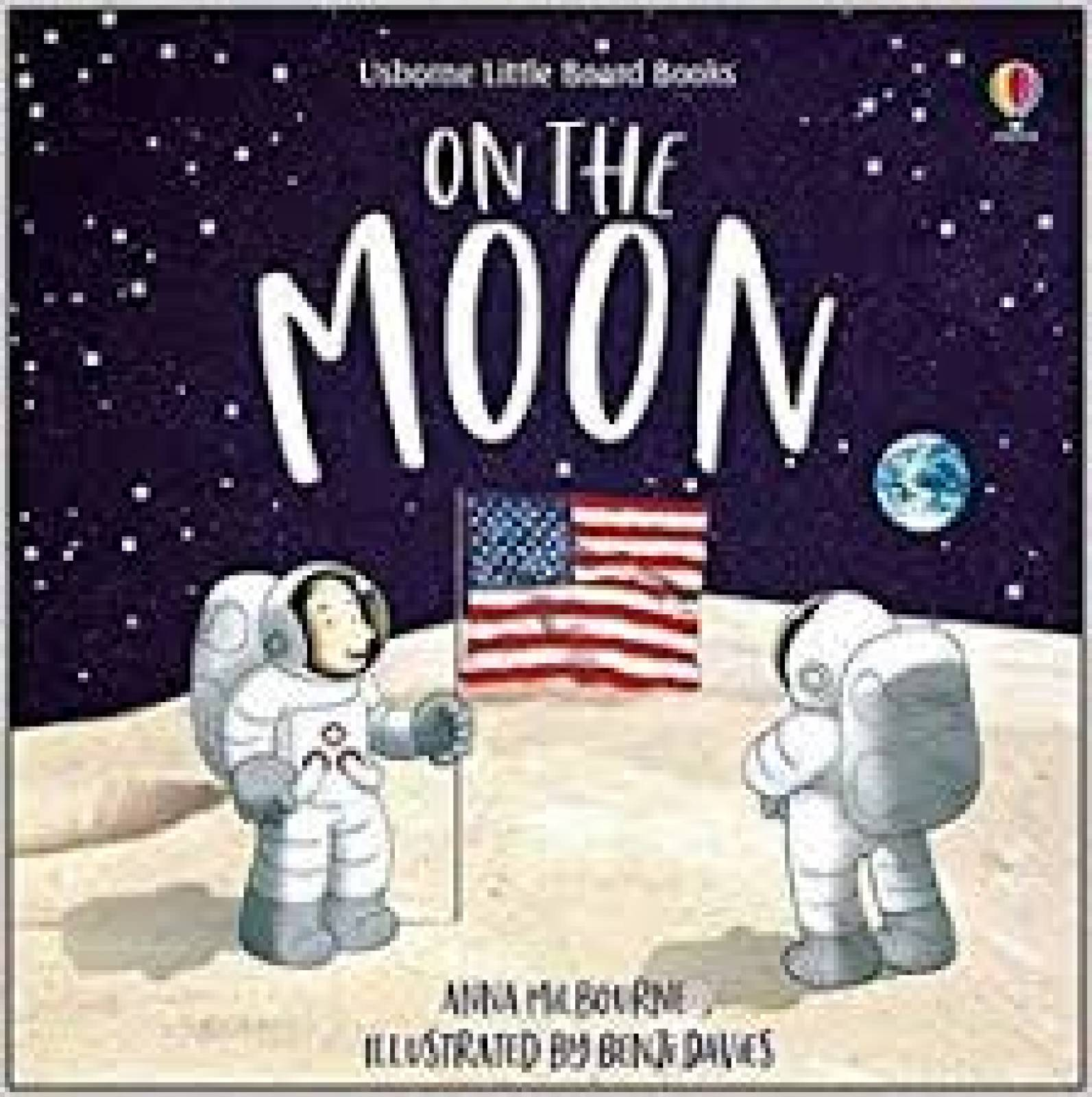 On The Moon - Board Book