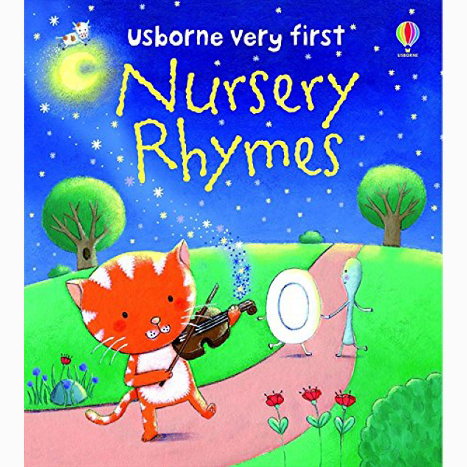 O/ PRINT Usborne Very First Nursery Rhymes - Board Book