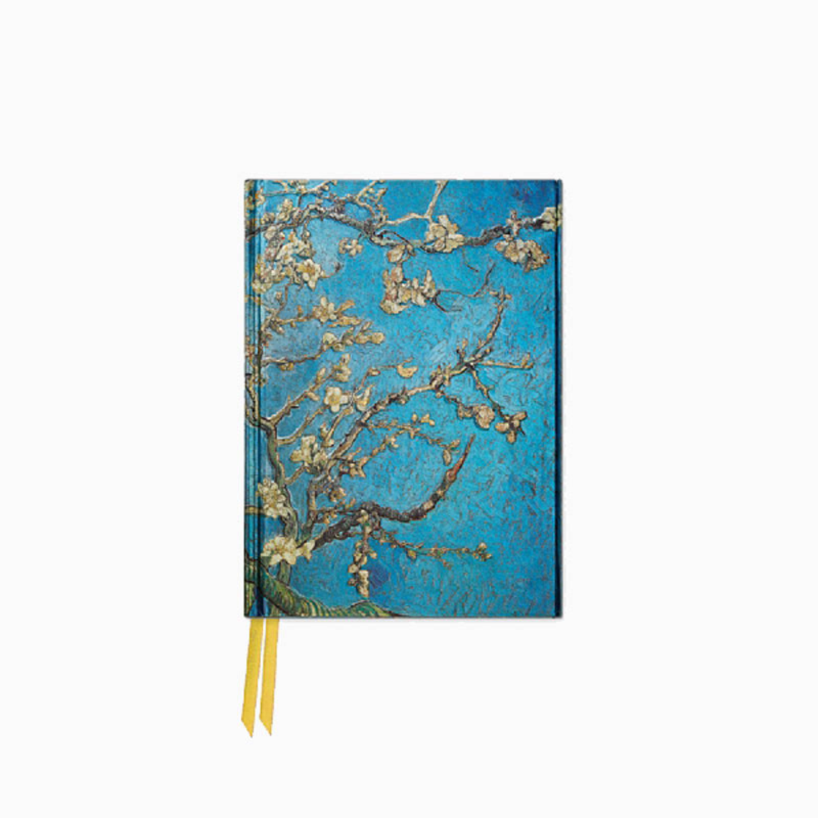 Van Gogh Almond Blossom - Foiled Pocket Journal