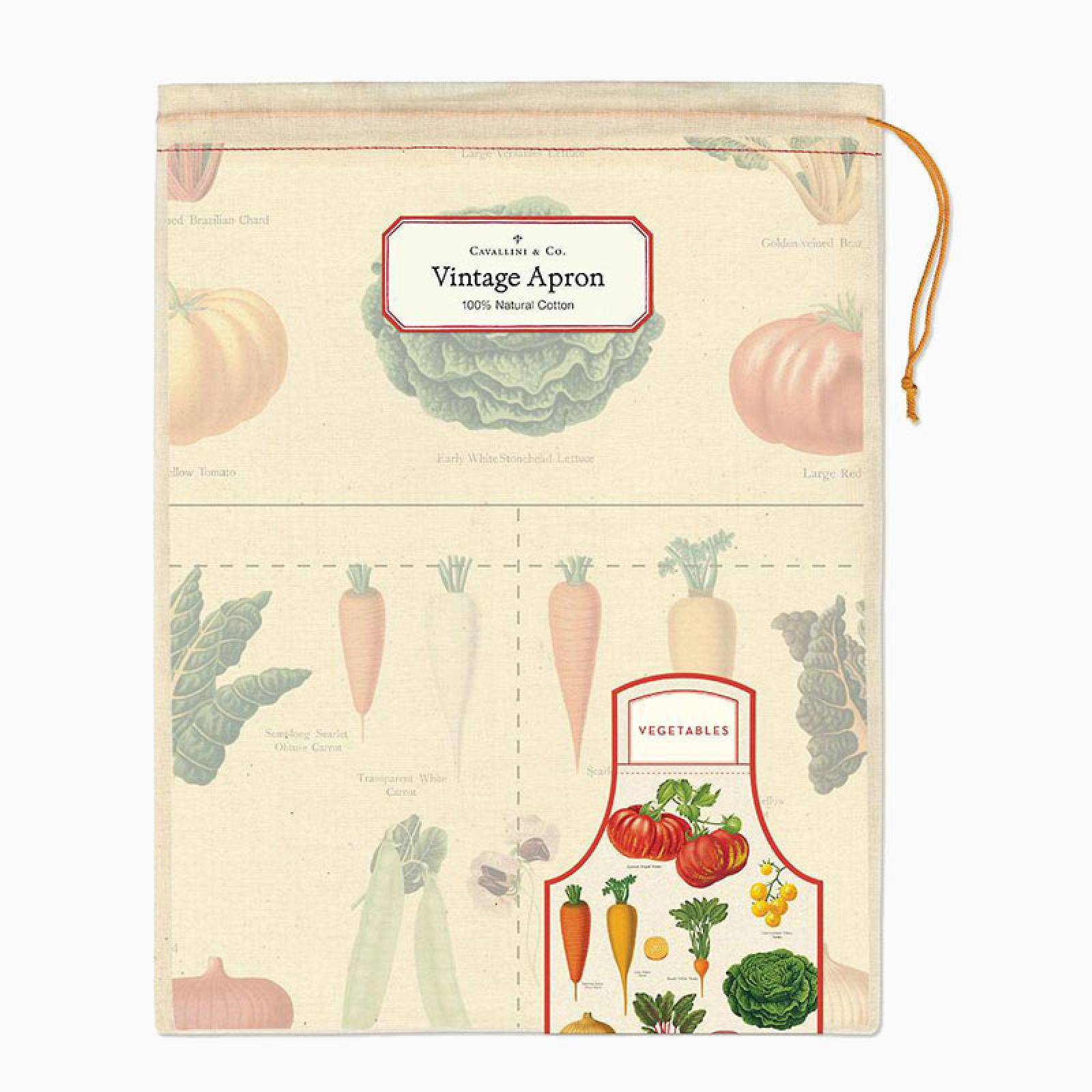 Vegetables Cotton Apron with Gift Bag thumbnails
