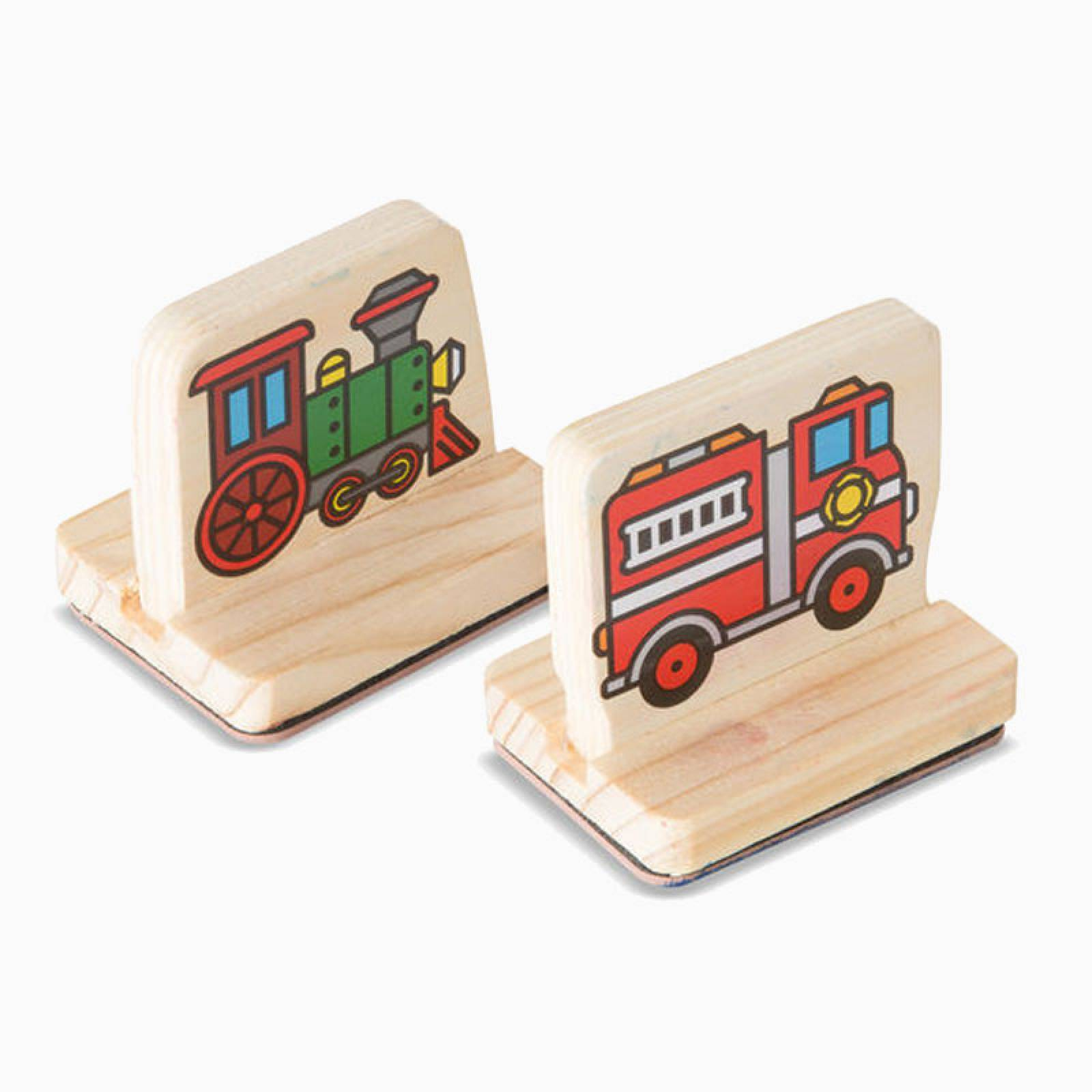 Vehicles - My First Stamp Set By Melissa & Doug thumbnails