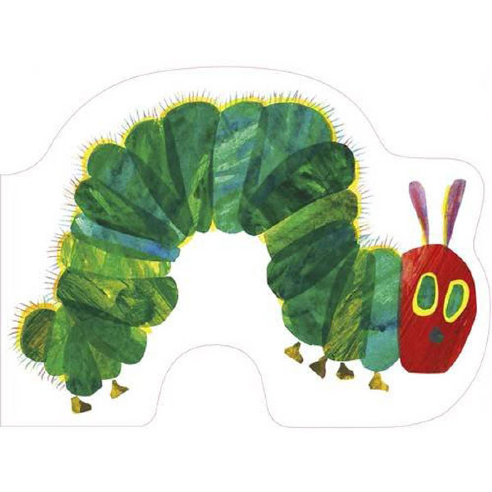 All About The Very Hungry Caterpillar Shaped Board Book