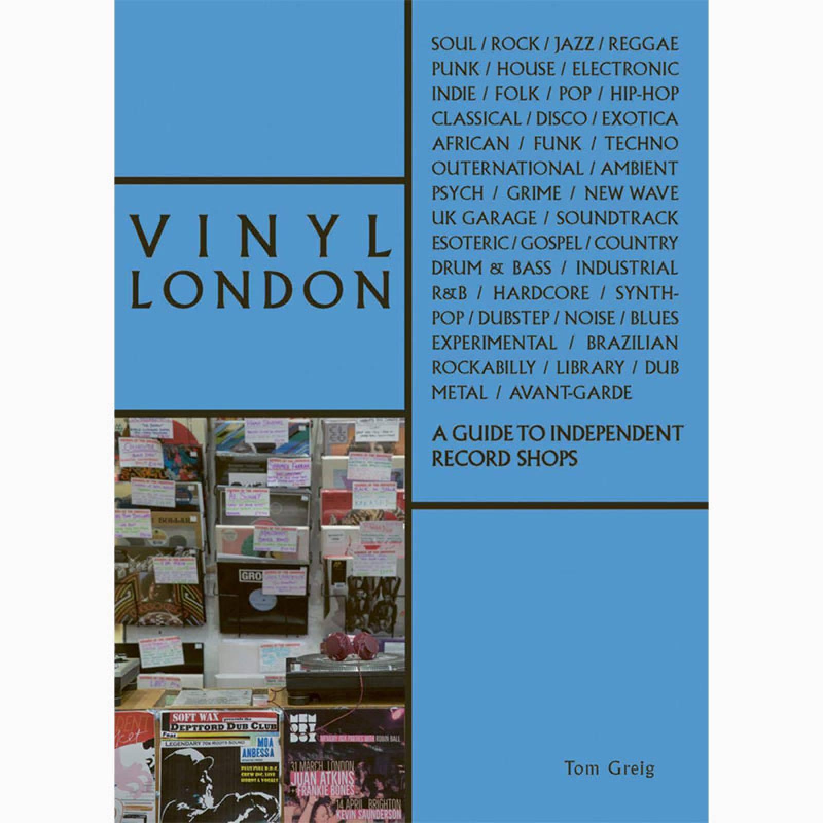 Vinyl London - Paperback Book