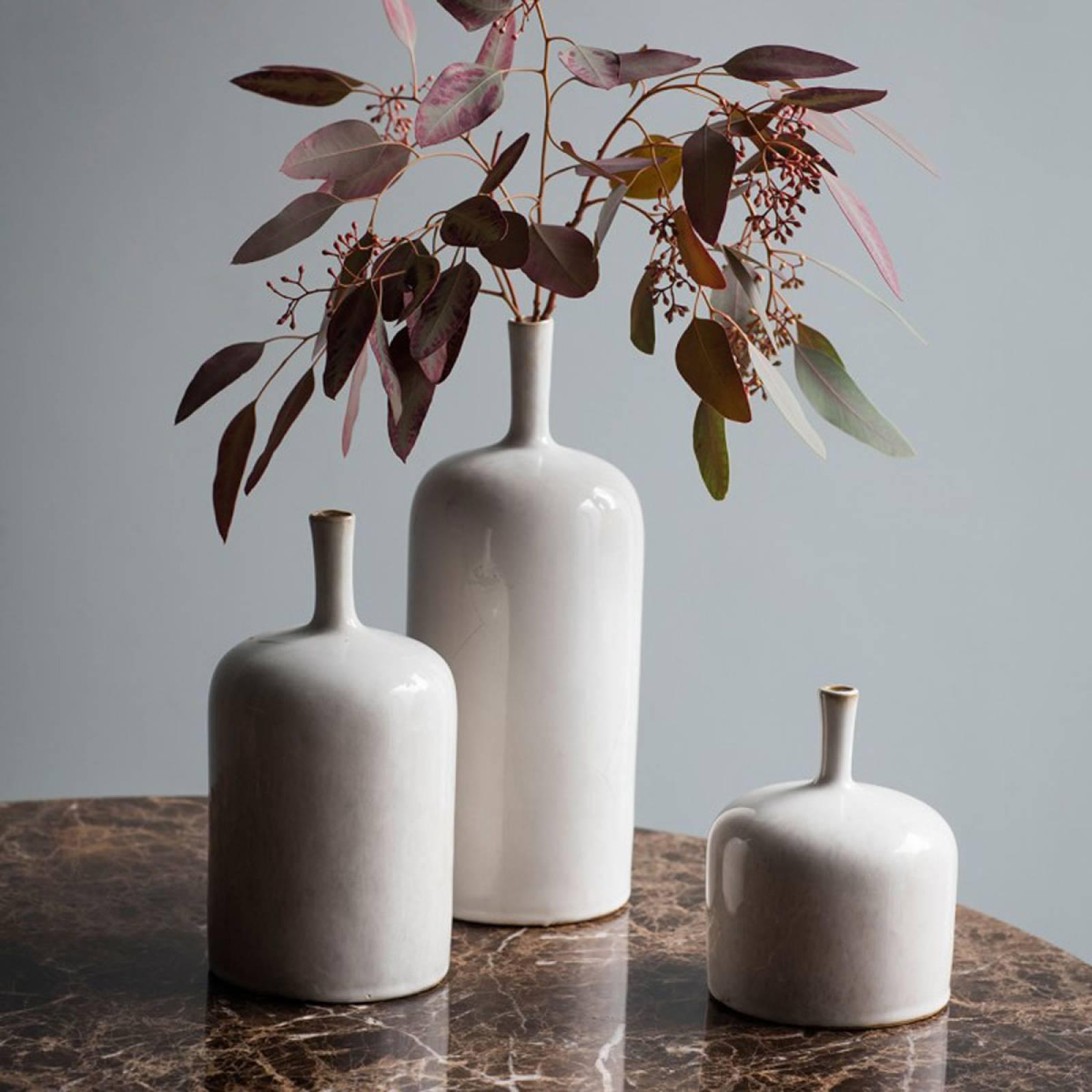 Vorm Ornamental Vase Natural L 12.5x12.5x32cm