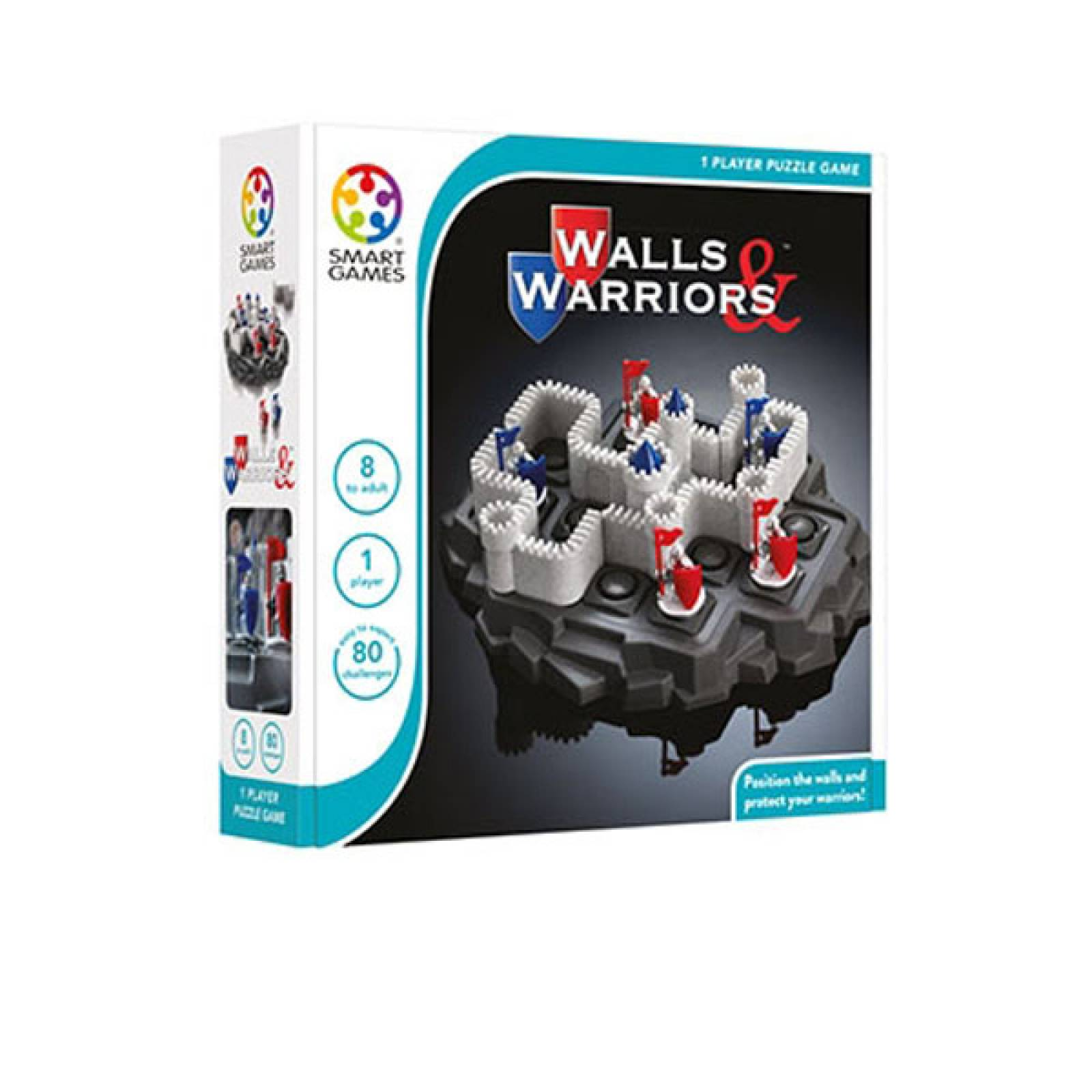 Walls & Warriors Game By Smart Games 8+