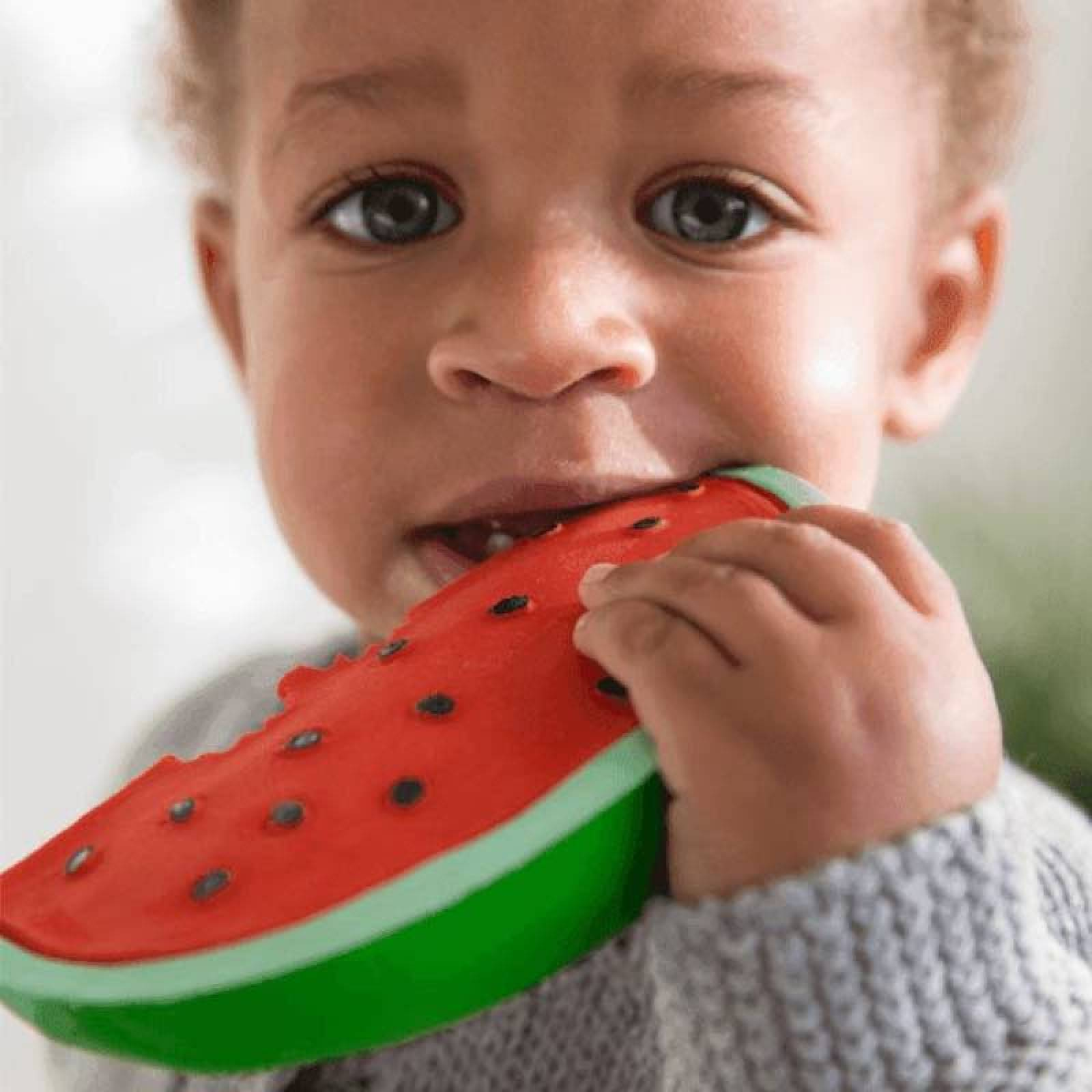 Wally The Watermelon - Natural Rubber Teething Toy 0+