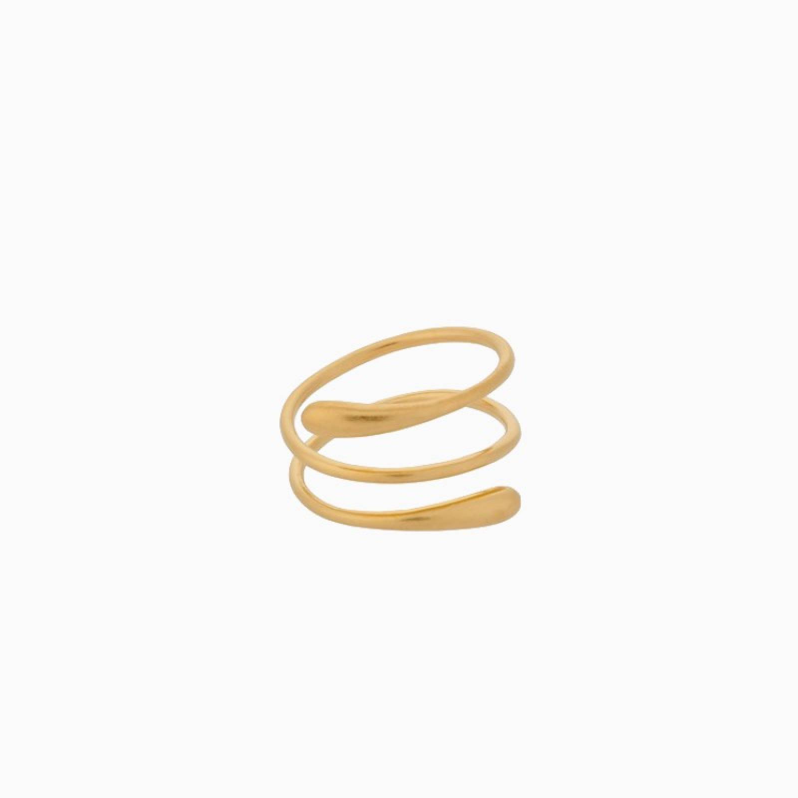 Waterdrop Ring In Gold By Pernille Corydon