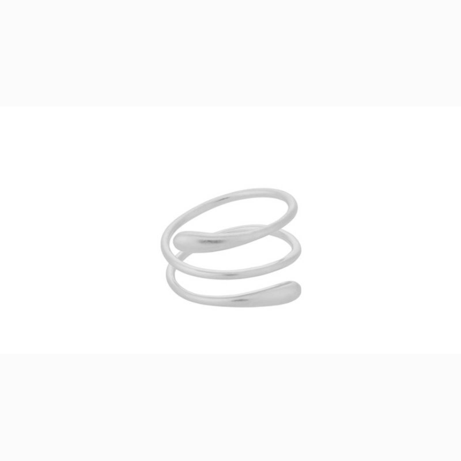 Waterdrop Ring In Silver By Pernille Corydon
